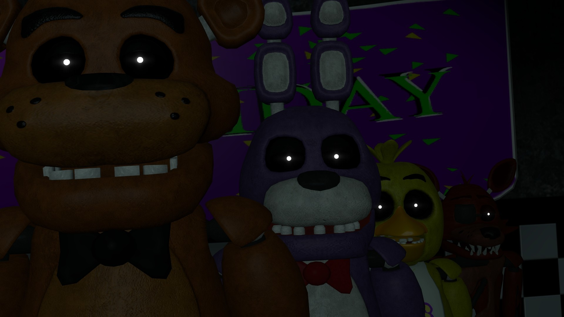 1920x1080 fnaf wallpaper A by datfurryoverthere on DeviantArt