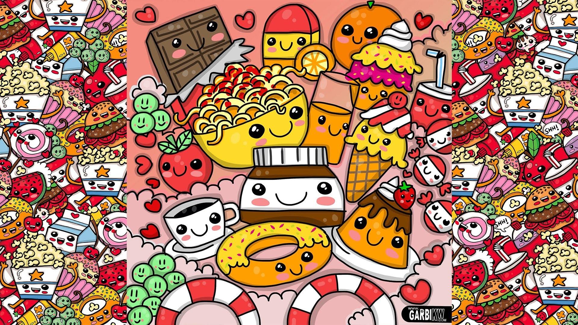 1920x1080 Cute Food Wallpaper Desktop