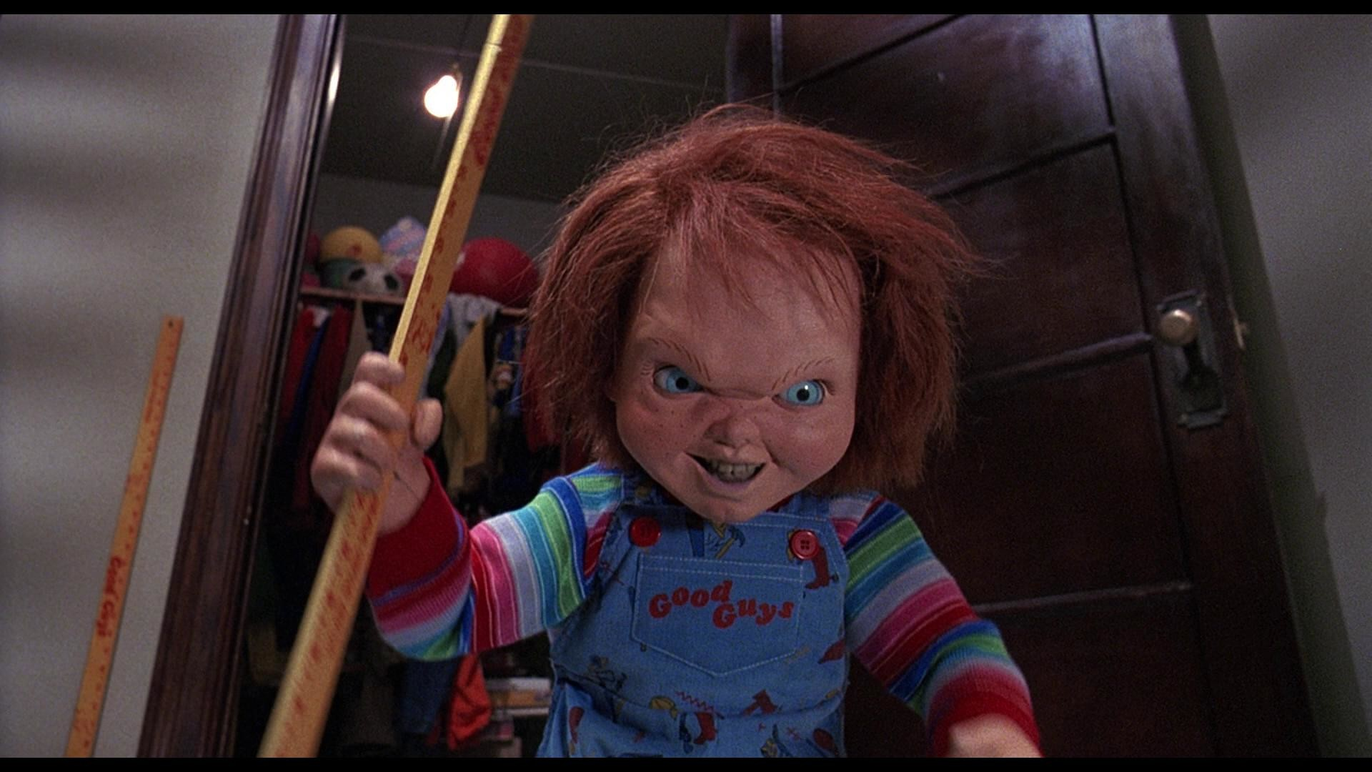 Chucky doll wallpaper 80 images 1920x1080 chucky creator wants to team with annabelle doll voltagebd Choice Image
