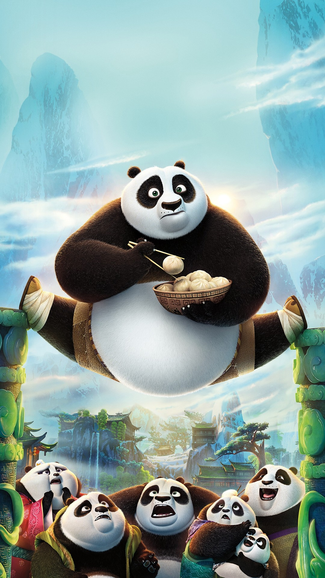 1080x1920 Kungfu Panda Art Illust Film Disney Iphone Wallpaper.
