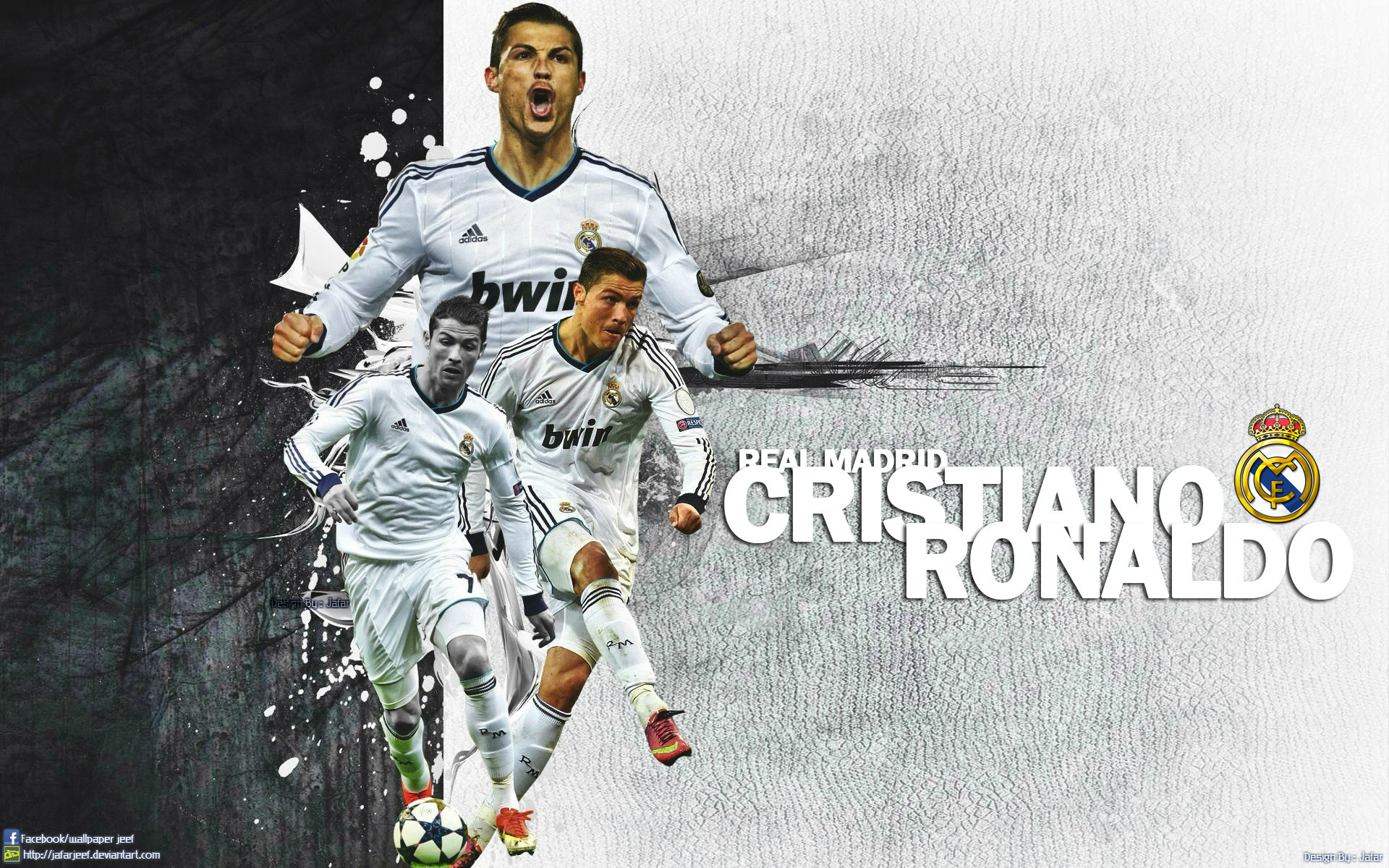 1920x1200 Cristiano Ronaldo Wallpapers HD A11