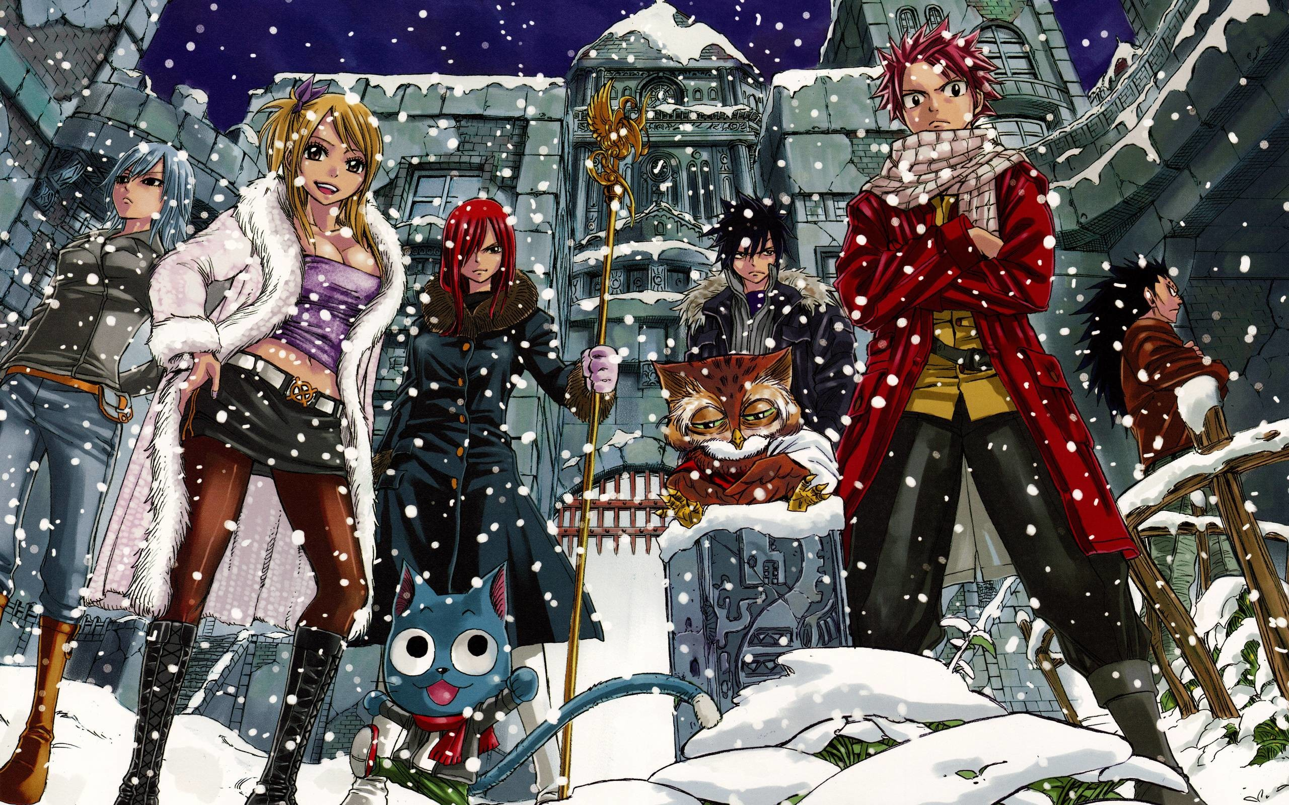2560x1600 Fairy Tail Retina Ultra HD Wallpaper and Background
