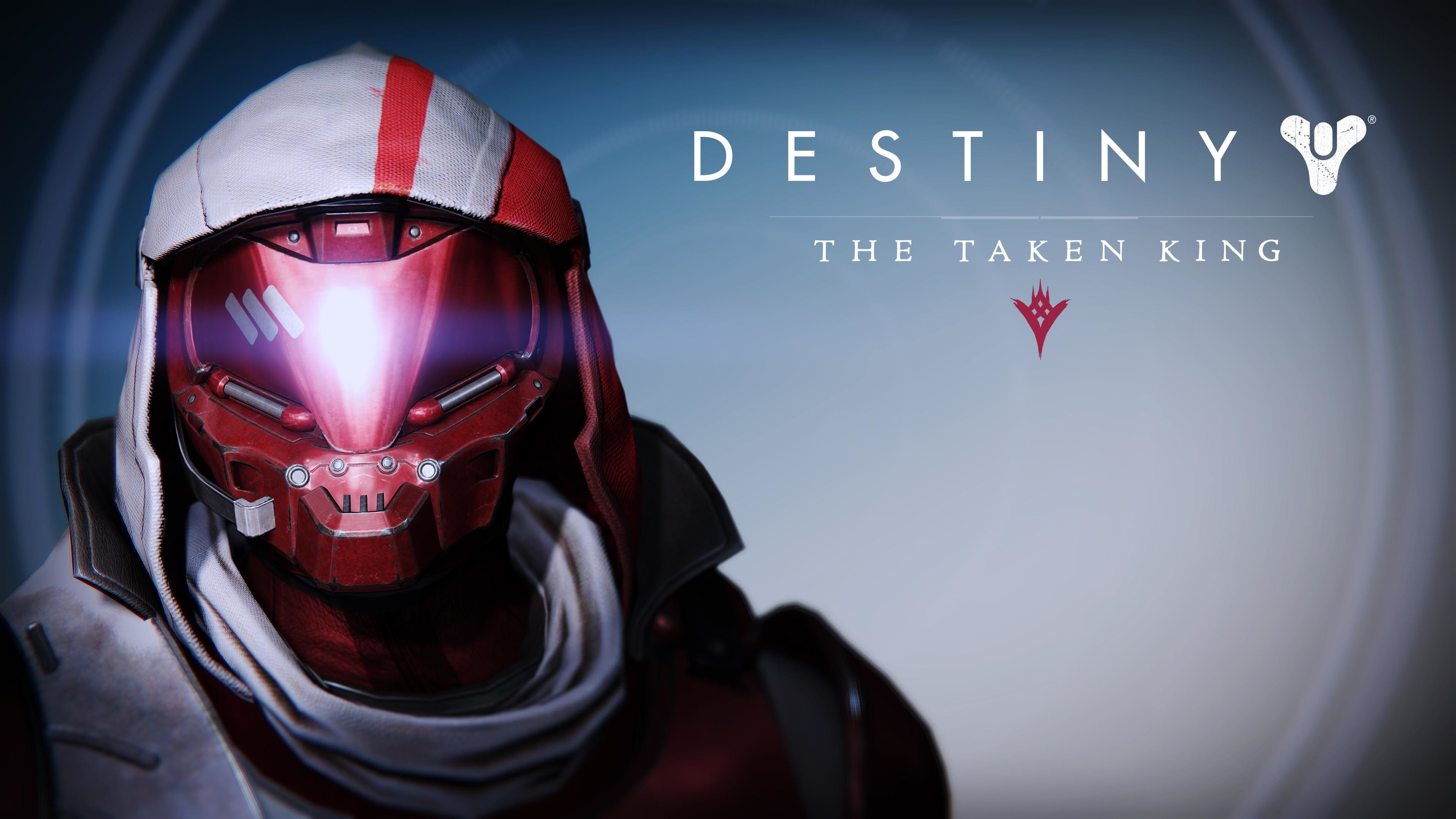 3840x2160 Destiny New Monarchy Hunter Male Helmet - Destiny The Taken King   wallpaper
