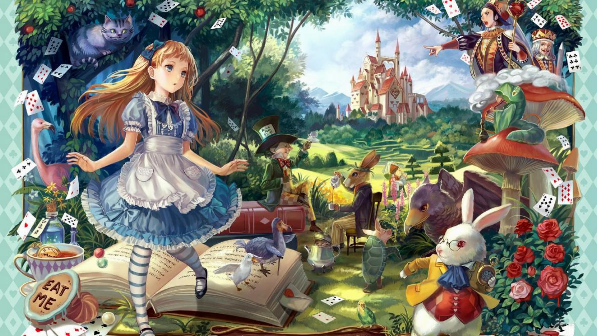 1920x1080 wallpaper.wiki-Full-HD-Alice-in-Wonderland-Wallpaper-