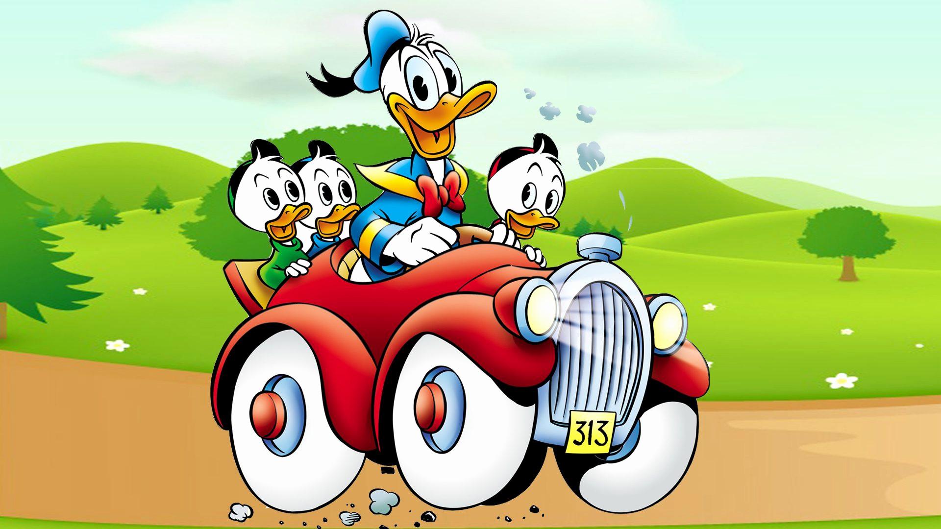 Wallpaper cars cartoon 62 images - Donald duck wallpapers for desktop ...