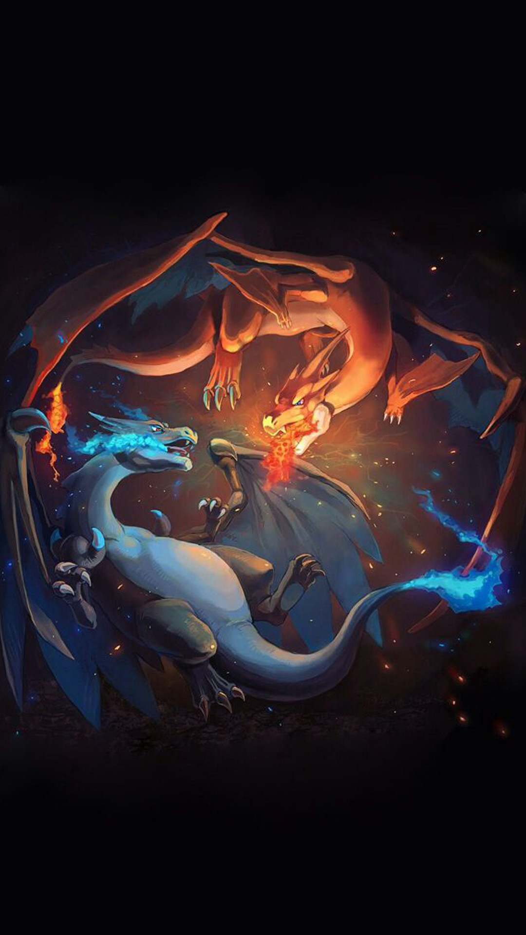 Pokemon Mega Charizard X Wallpaper (80+ images)