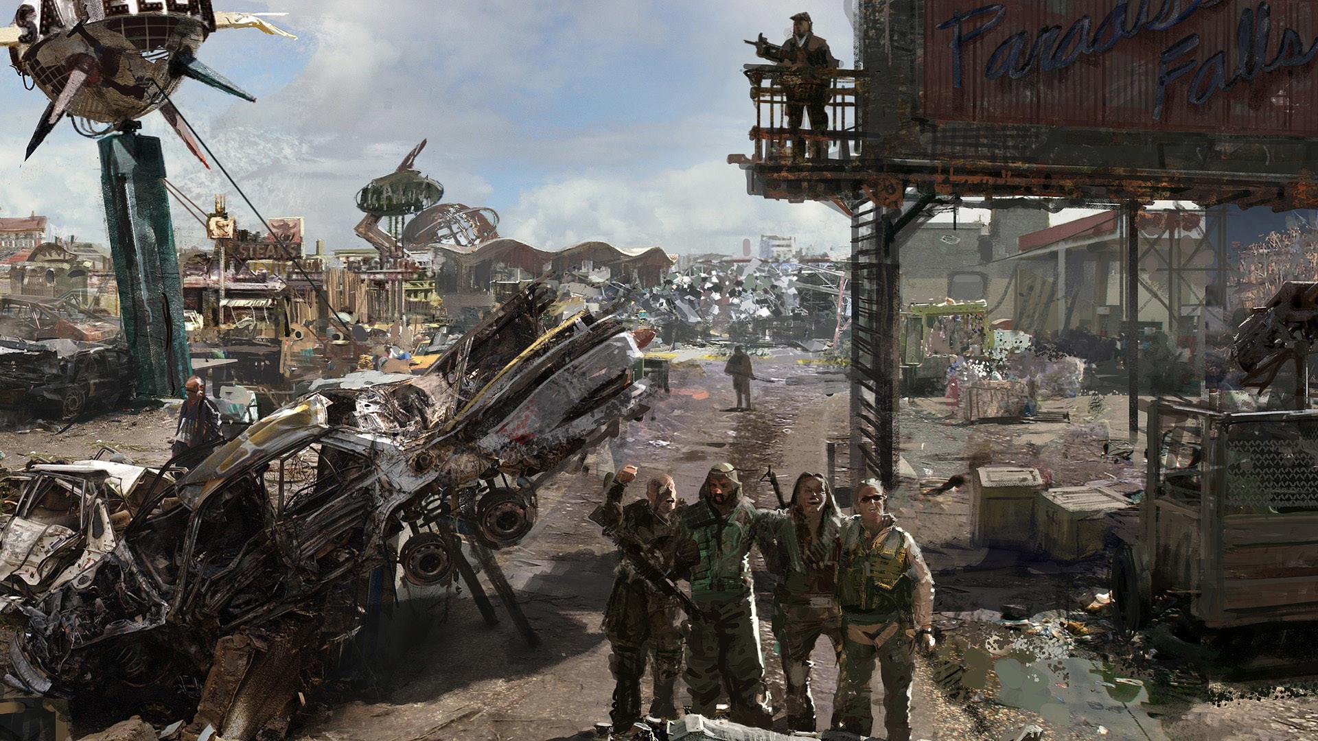 Fallout 4 Concept Art Wallpaper (74+ images)