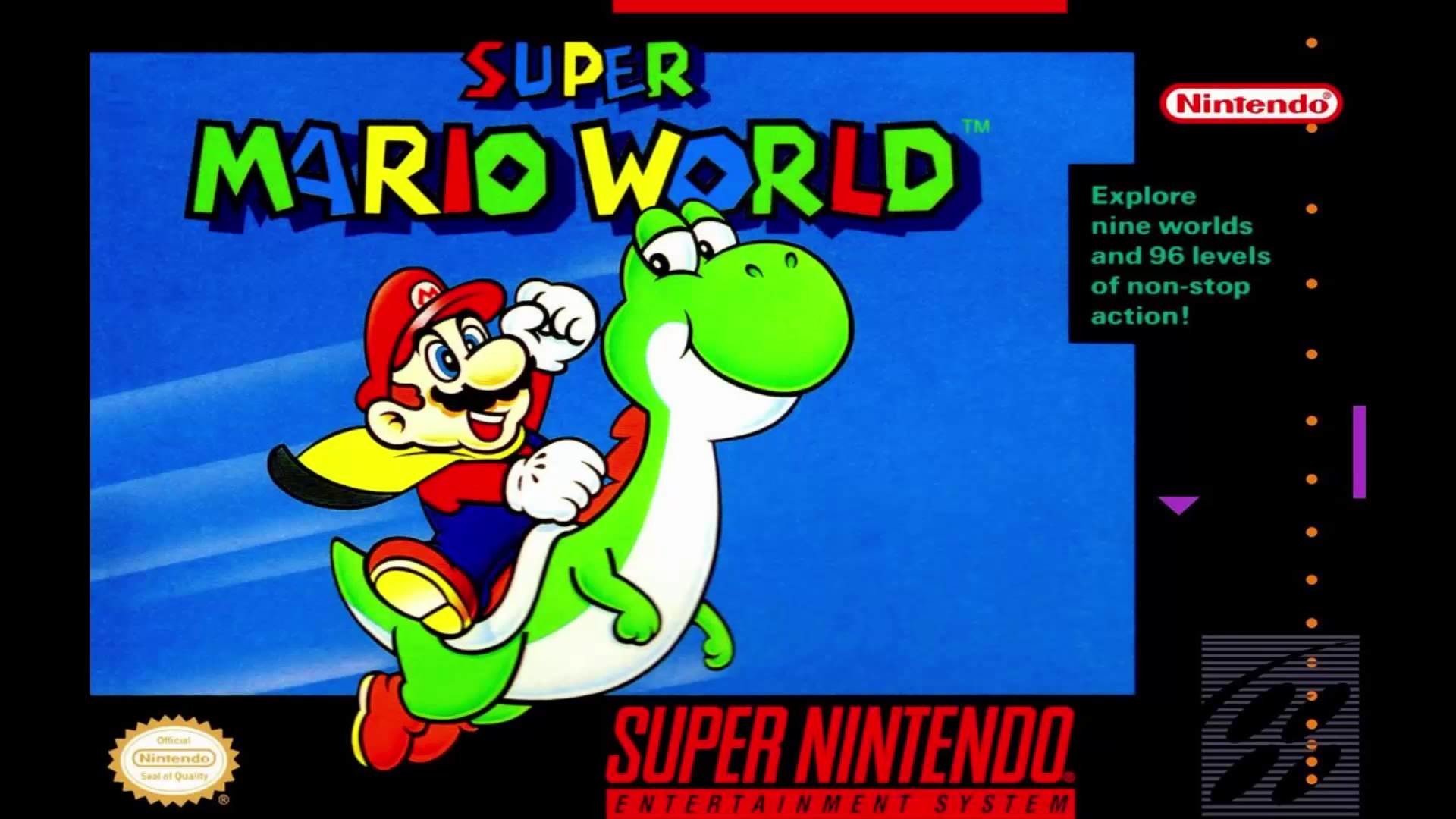 1920x1080 Super Mario World - Special World Map (SNES OST)