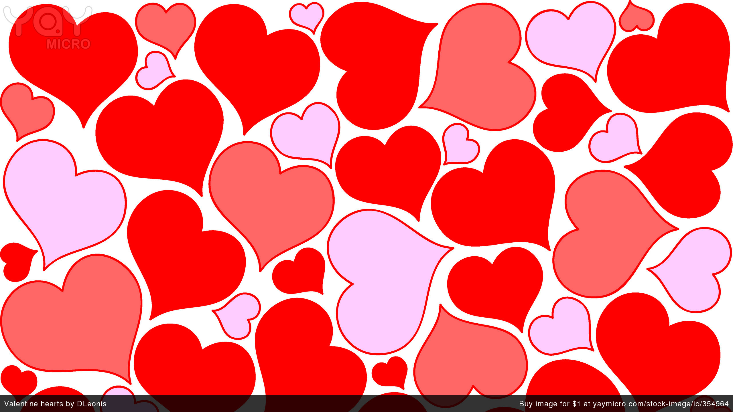 2560x1440 Free Wallpapers for Desktop - Valentine Hearts Valentine Heart