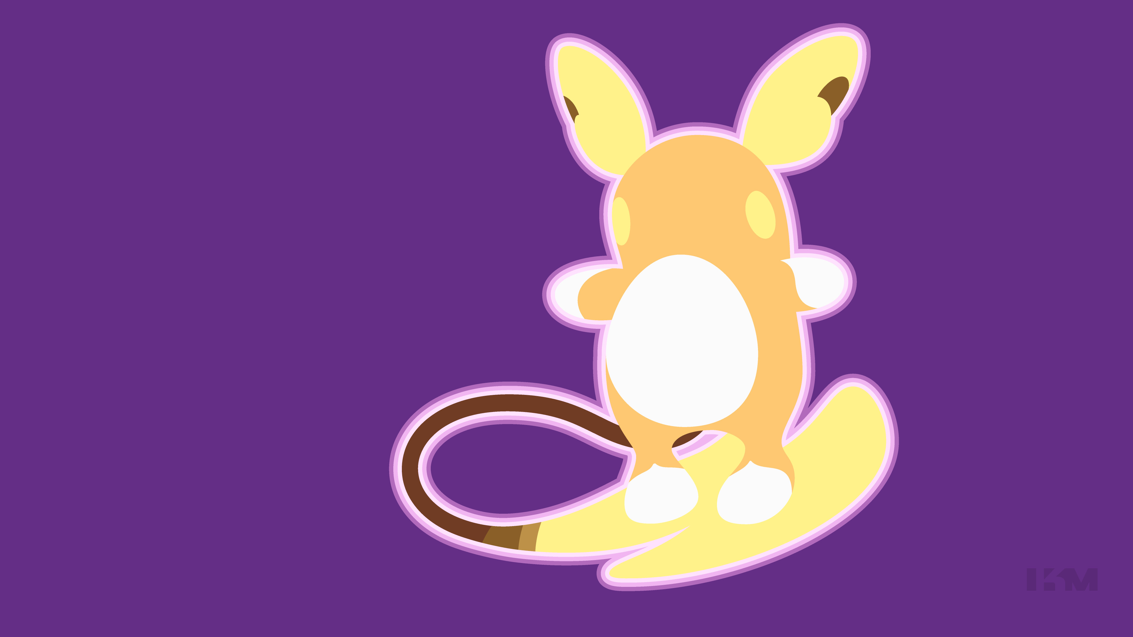 3840x2160 Computerspiele - Pokémon Sun and Moon Raichu (Pokémon) Pokémon Alola Raichu  Wallpaper