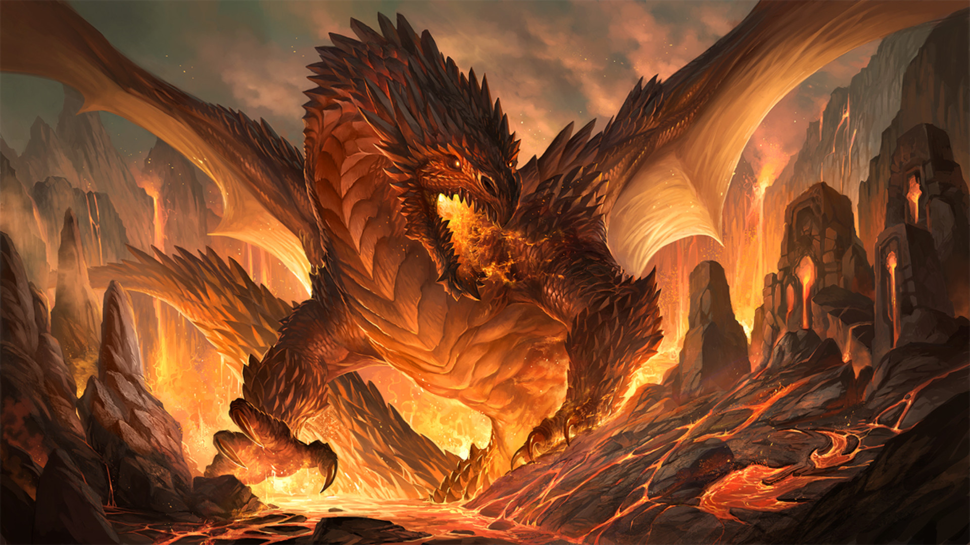 Dragon wallpaper hd 1080p 76 images - Dragon backgrounds 1920x1080 ...