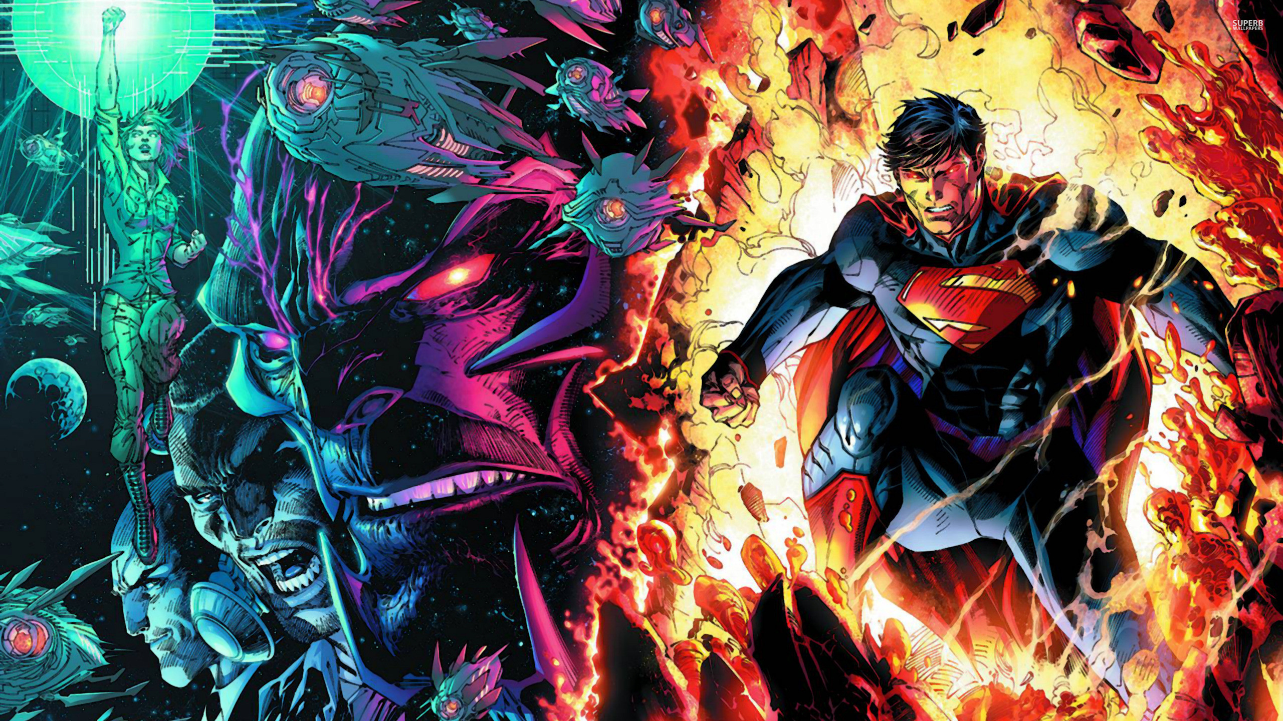 2560x1440 Superman wallpaper