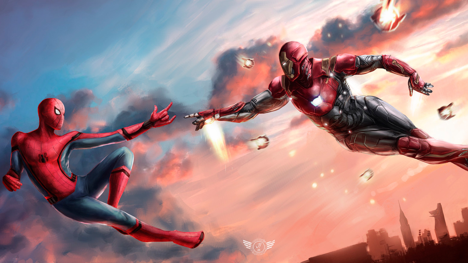 10 Top Spider Man 2099 Wallpaper Full Hd 1080p For Pc Desktop: Iron Spider Wallpaper (69+ Images