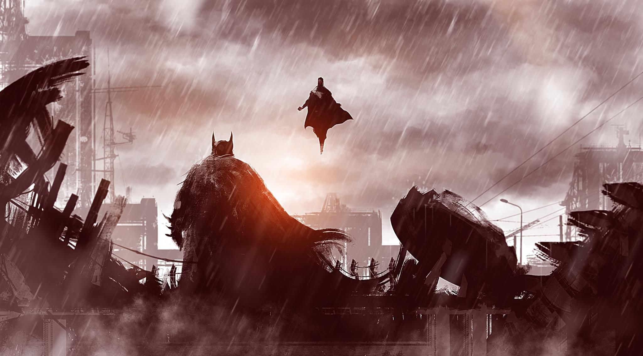Wallpapers Wide Hd Collections: Batman Vs Superman 1080p Wallpapers (77+ Images
