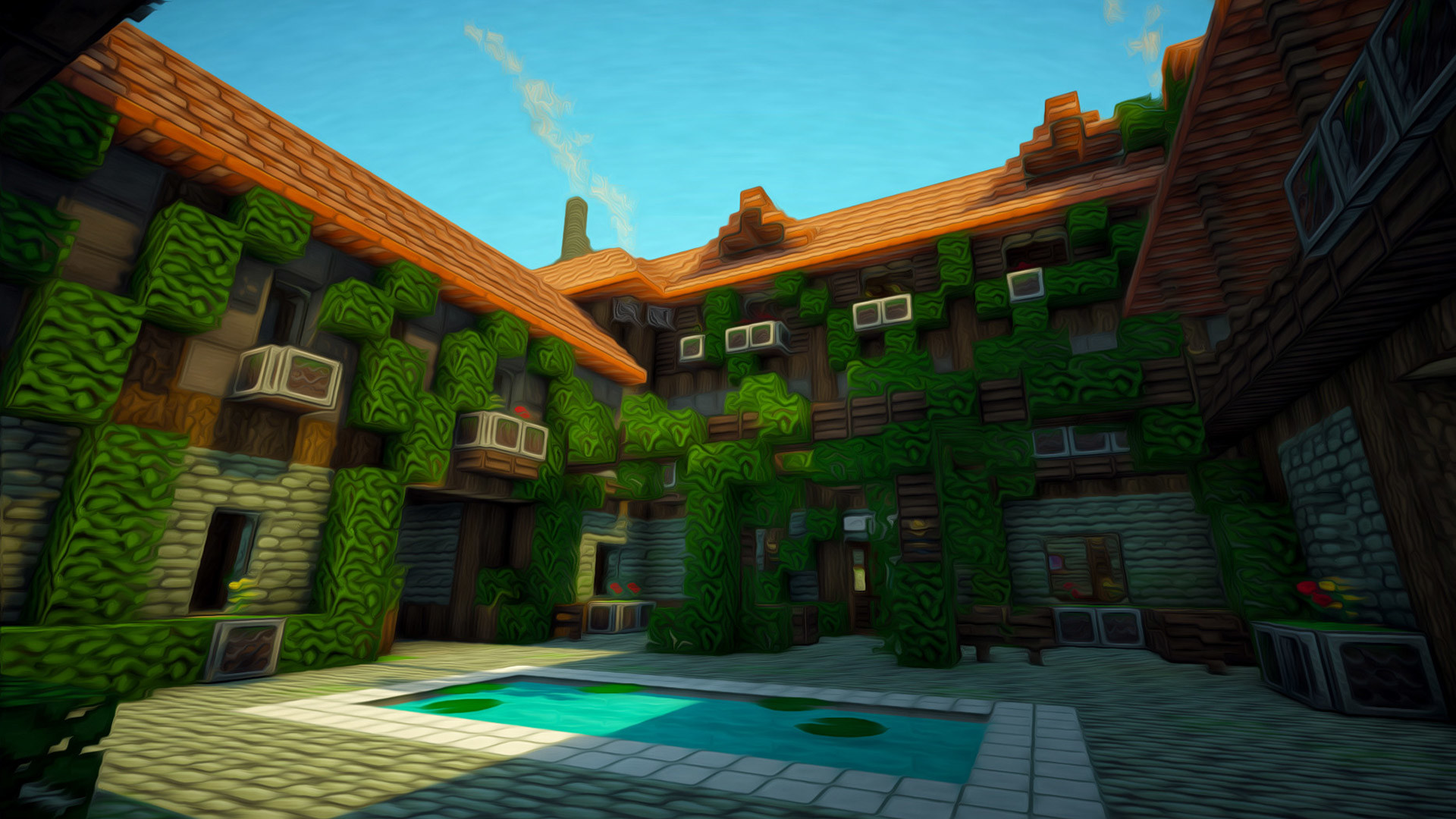 1920x1200 Page Full HD P Minecraft Wallpapers Desktop Backgrounds