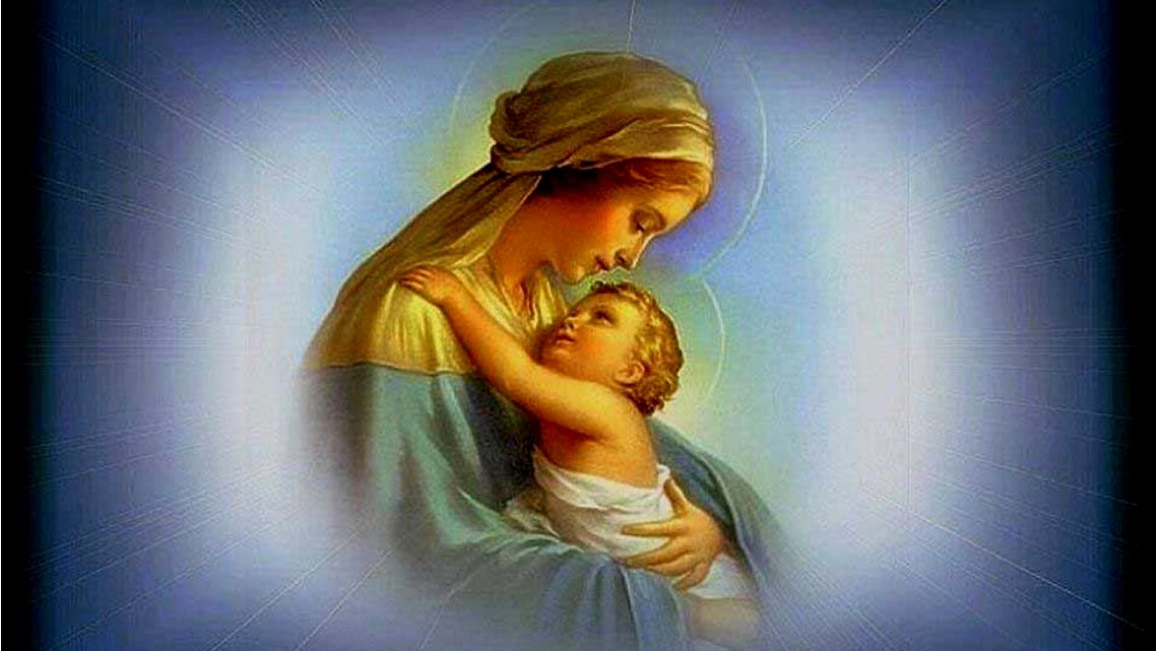 Mother Mary with Baby Jesus Wallpaper (34+ images)