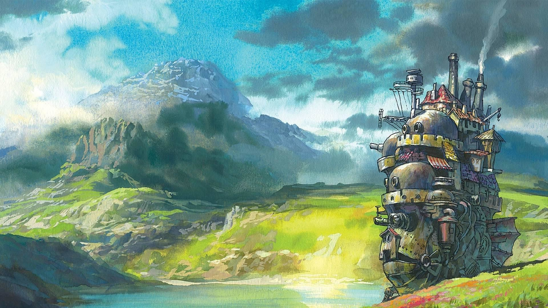 1920x1080 Howl's Moving Castle : wallpapers