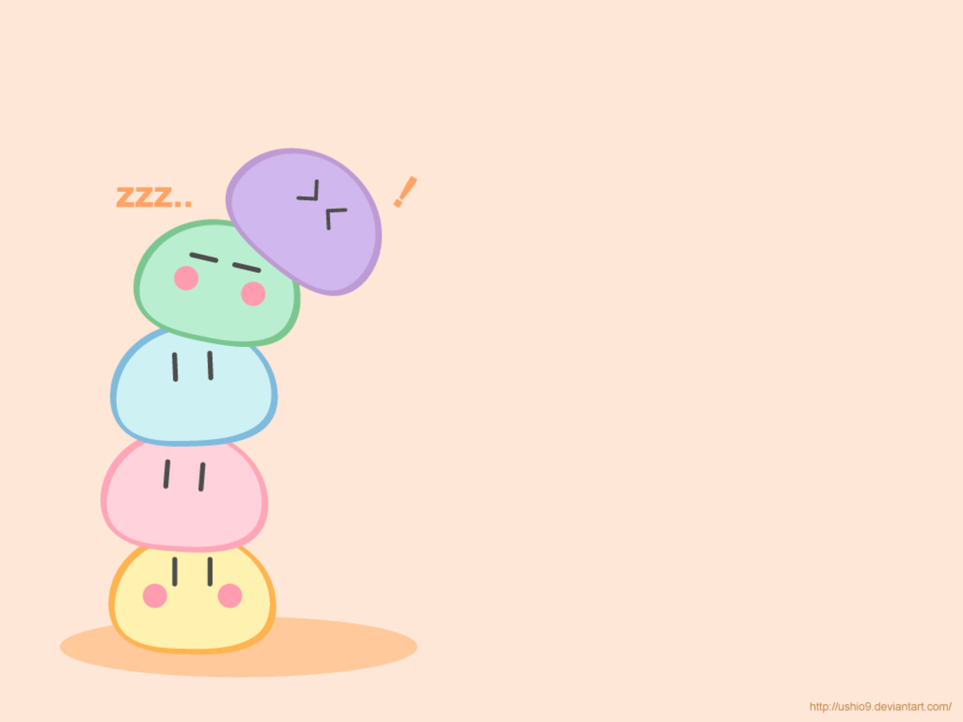 1920x1440 53 images about Dangos on We Heart It | See more about dango, clannad and  anime