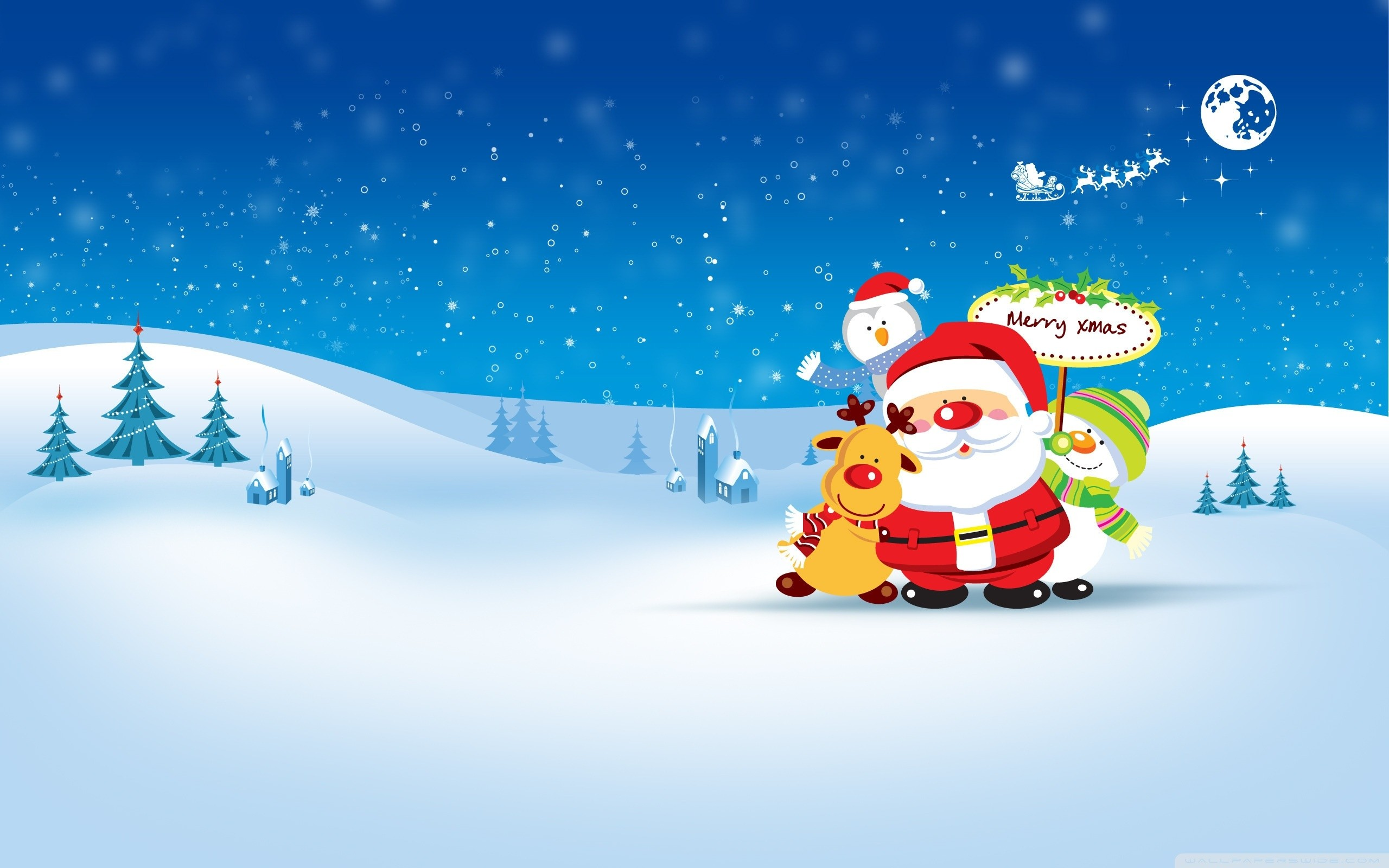 2560x1600 Christmas Holiday PowerPoint Templates Free | Animated PowerPoint .