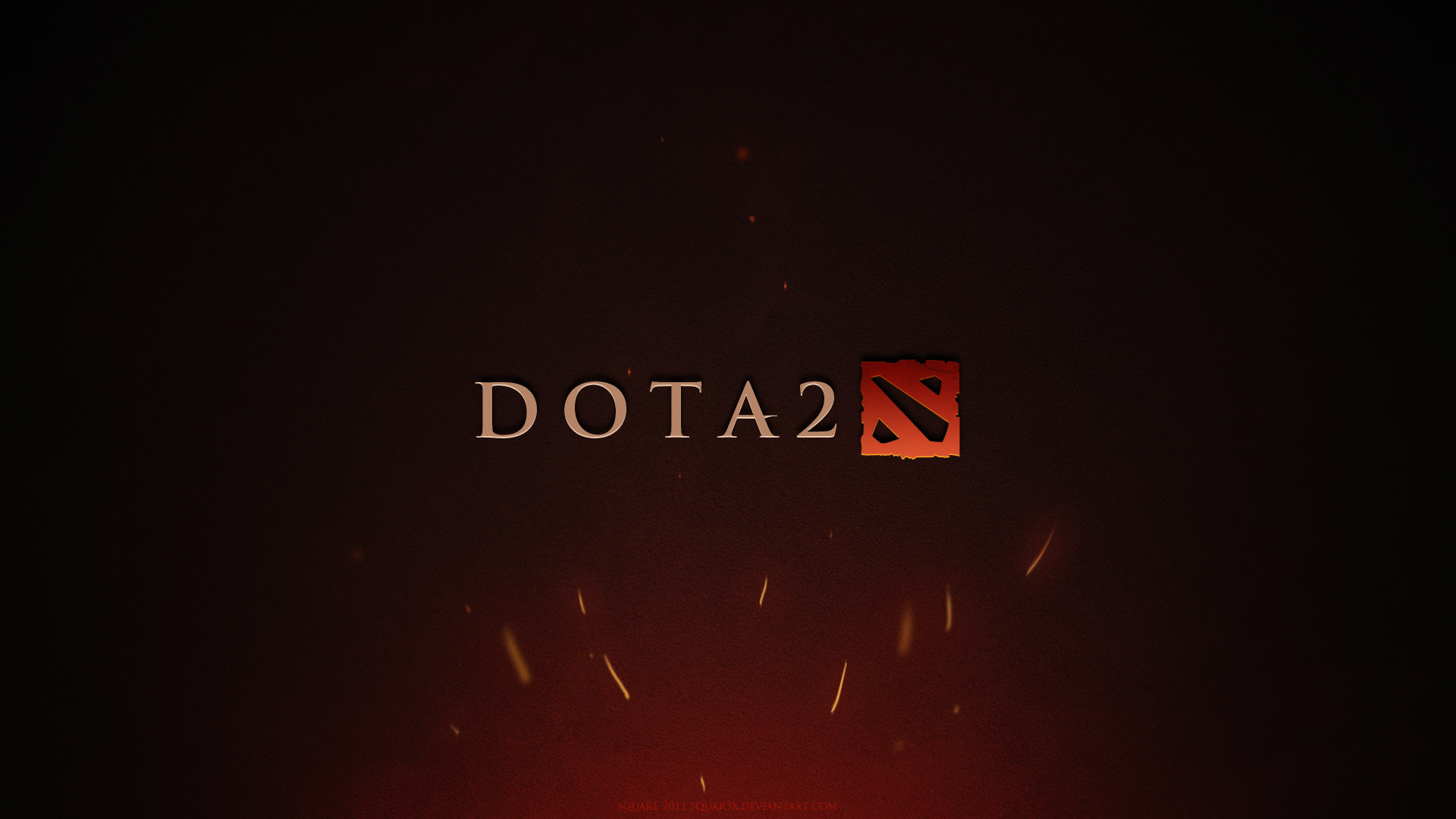 1920x1080 Preview wallpaper dota 2, game, logo, background