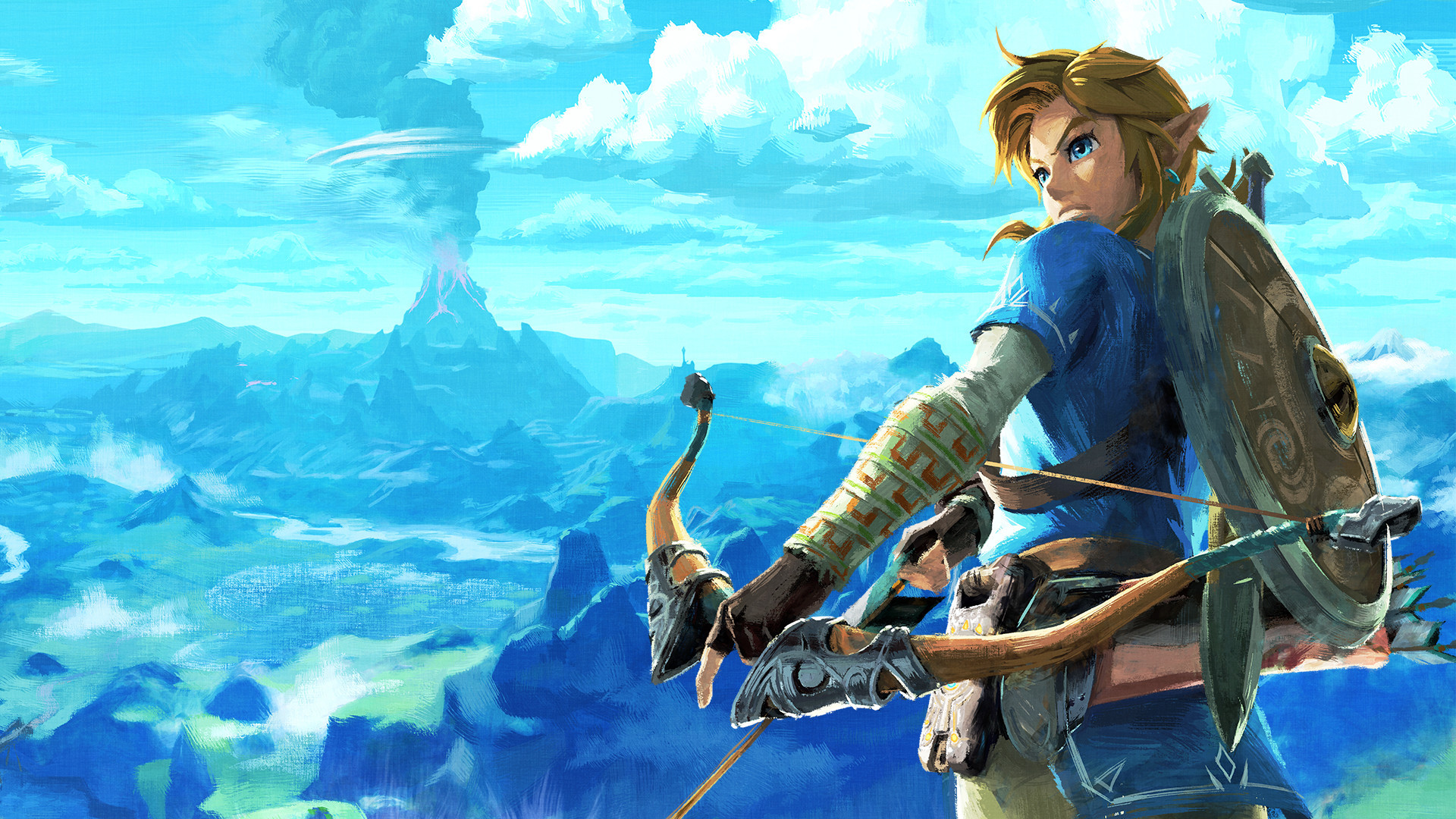 1920x1080  Master Sword - Zelda Breathe of the Wild #wallpaper