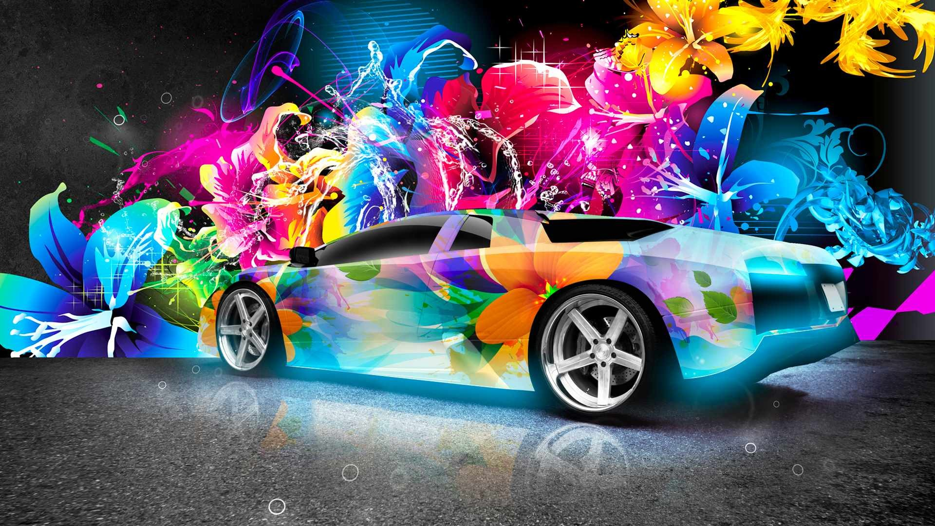 1920x1080 2015 Colorful lamborghini Most Luxurious car backgrounds 1080p .