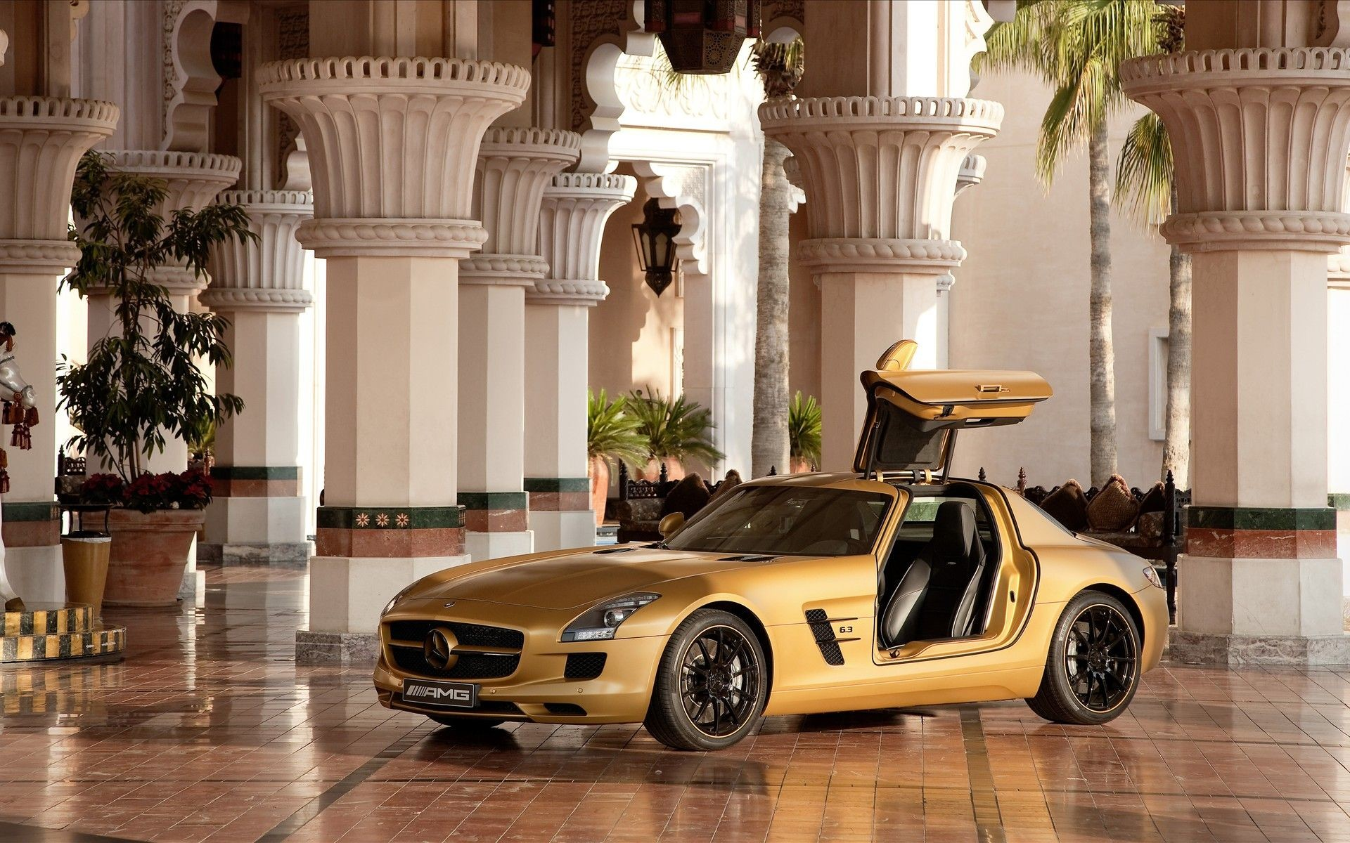 1920x1200 HQ Mercedes-Benz SLS AMG Wallpaper