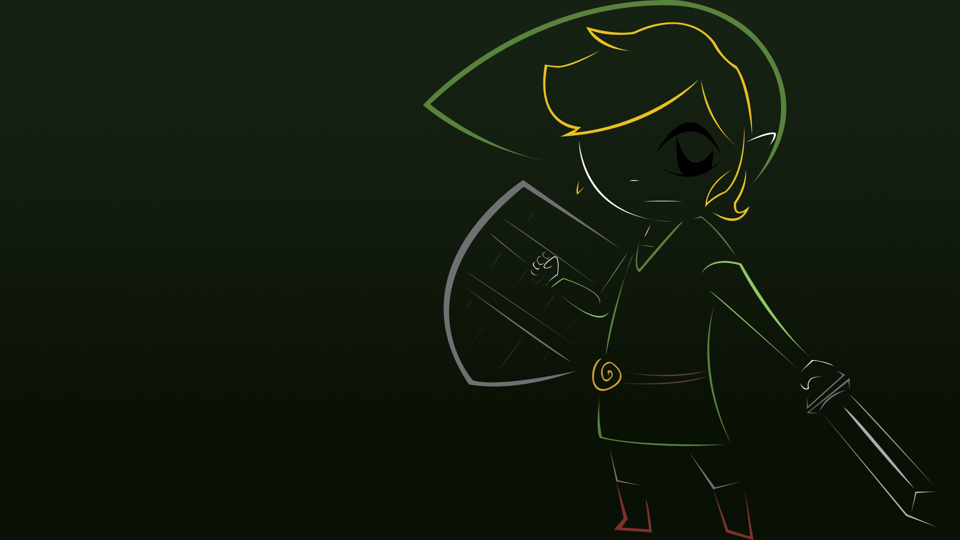 1920x1080 Video Game - The Legend of Zelda: Phantom Hourglass Link Wallpaper