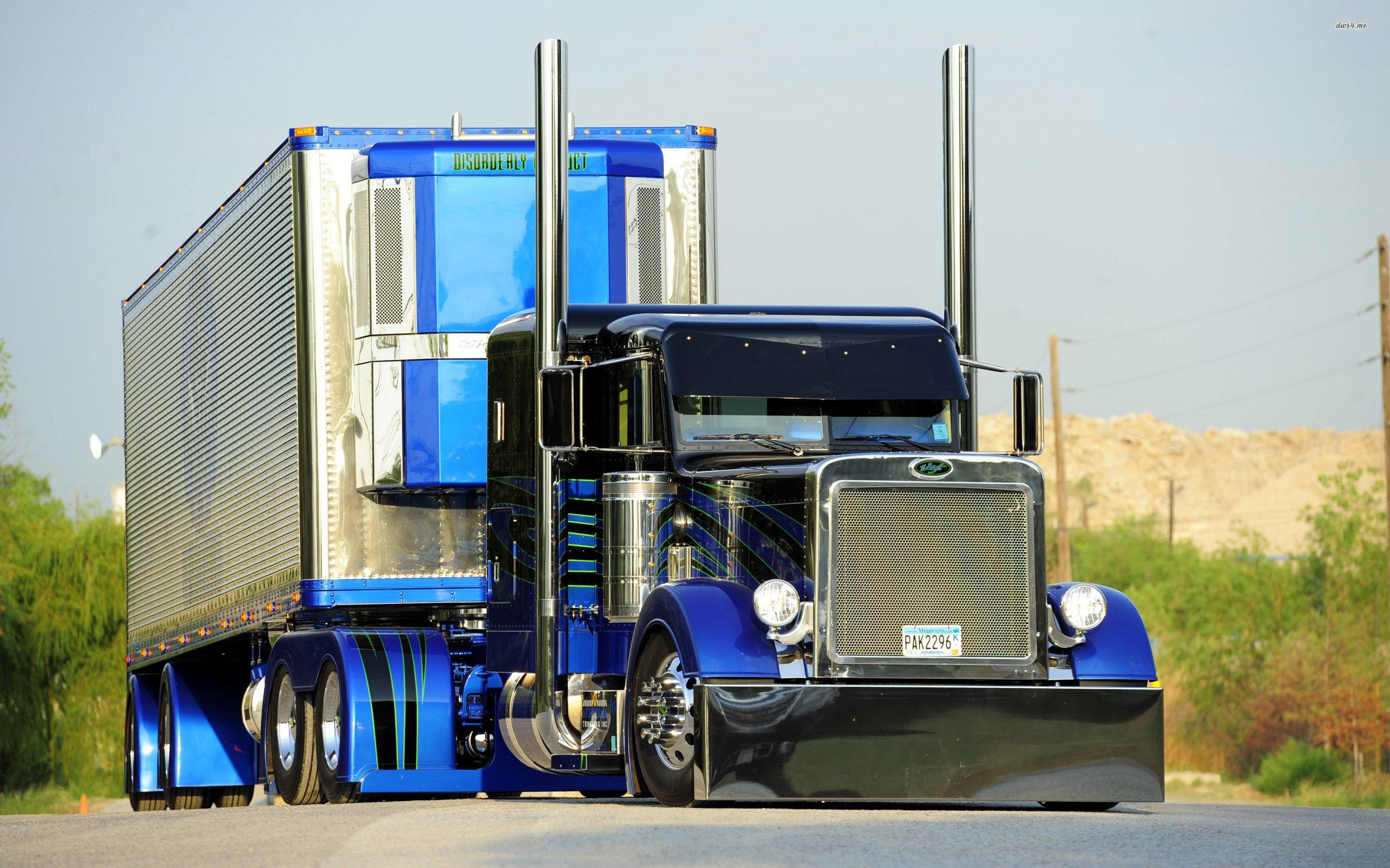 2880x1800 Peterbilt truck wallpaper - Car wallpapers - #