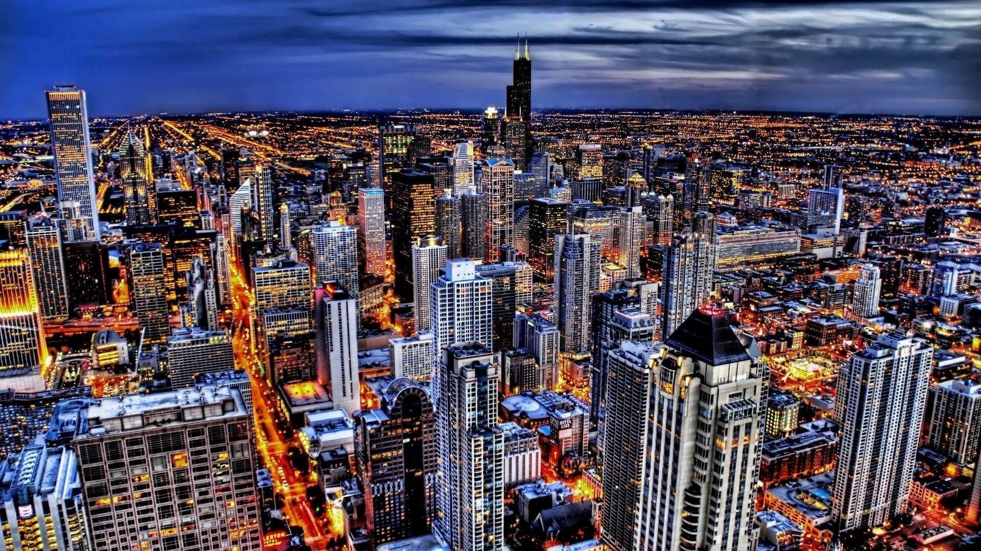 1920x1080 wallpaper.wiki-Chicago-Skyline-HD-Wallpapers-PIC-WPE0011276
