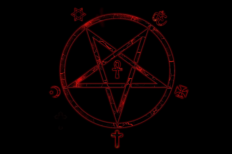 The Sigil Of Lucifer Baphomet Source Hail Satan Wallpaper 57 Images