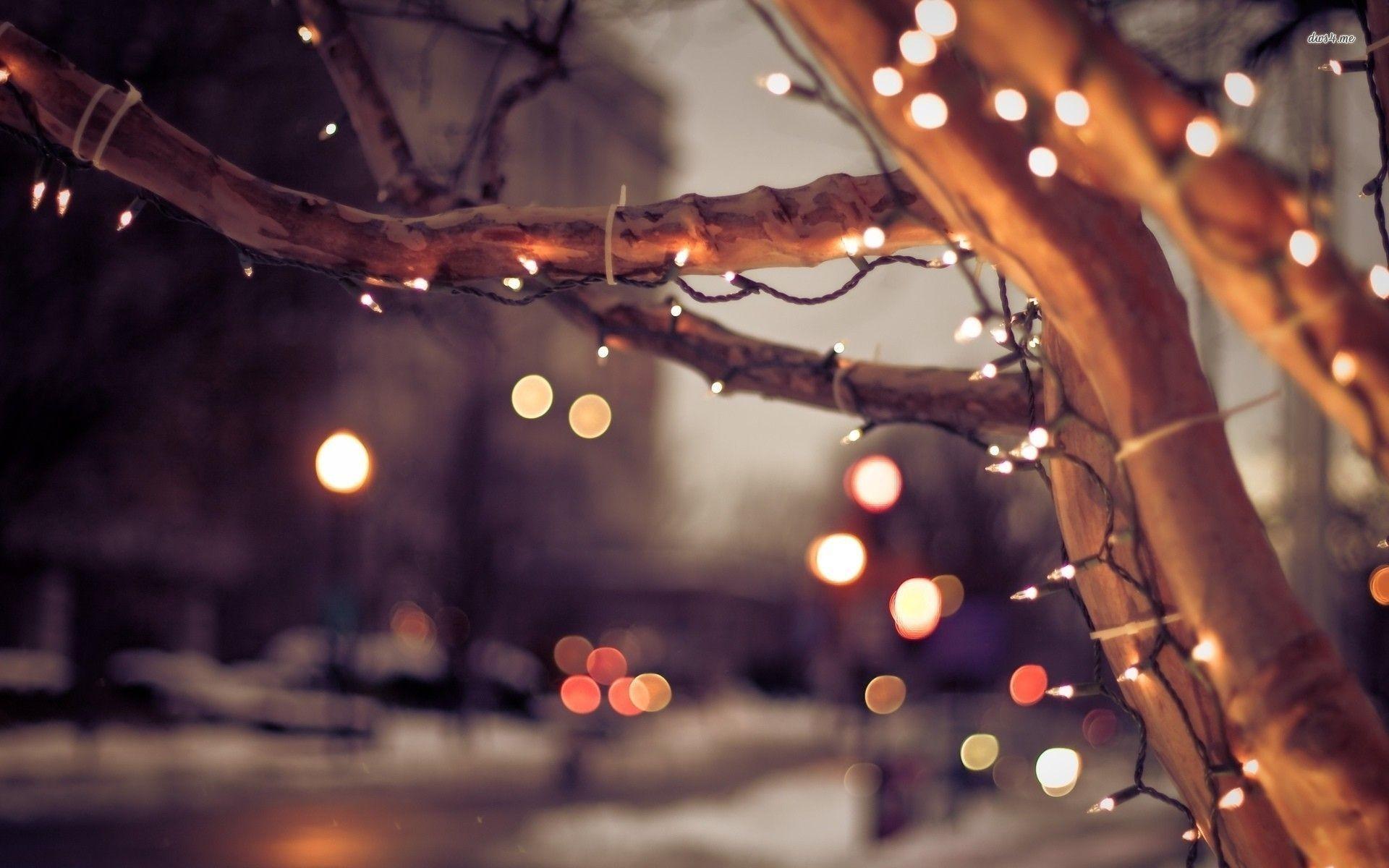 Blinking Christmas Lights Wallpaper (59+ images)