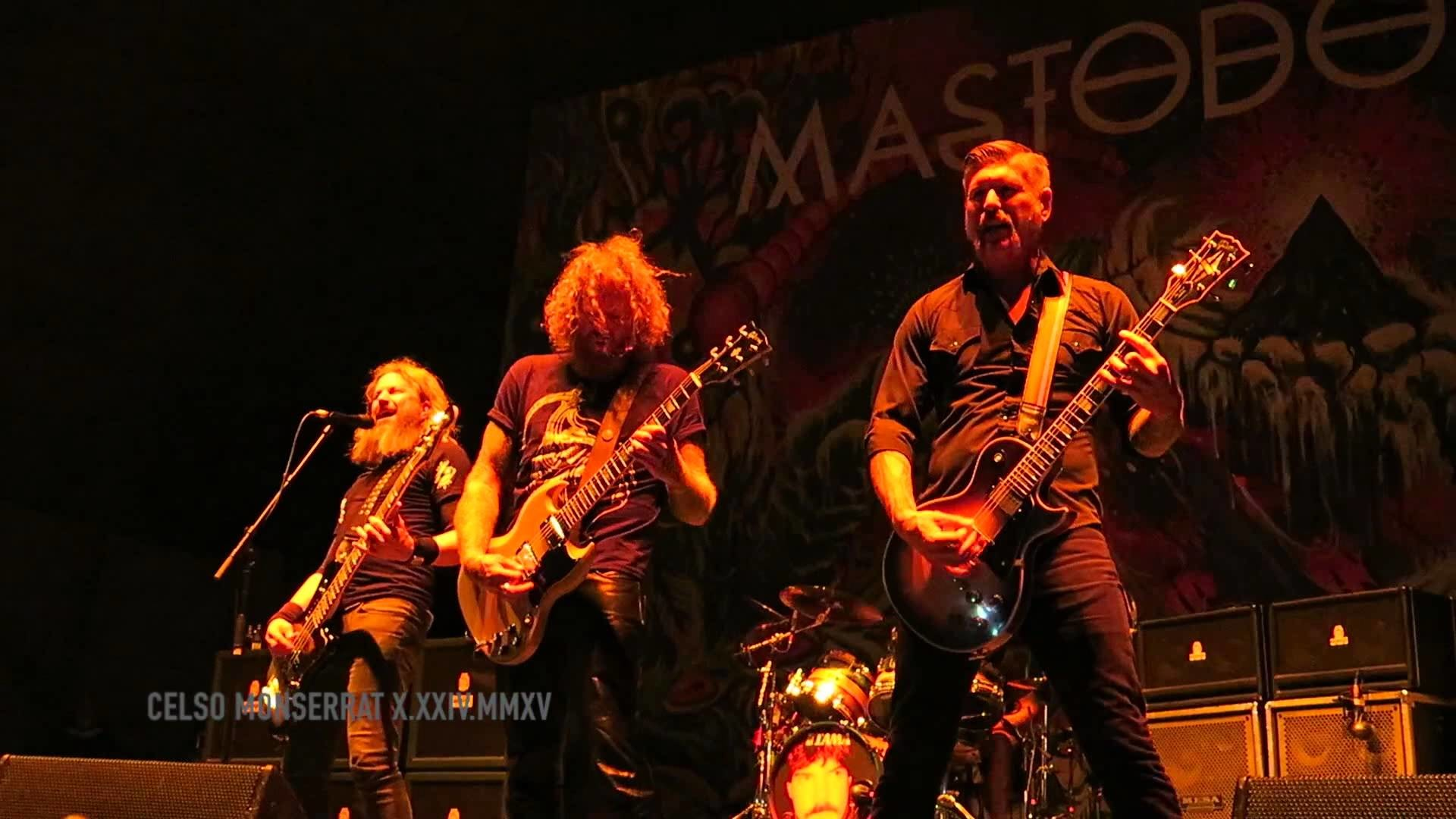 1920x1080 MASTODON - Black Tongue - KNOTFEST 2015, San Bernardino, California  10.24.2015