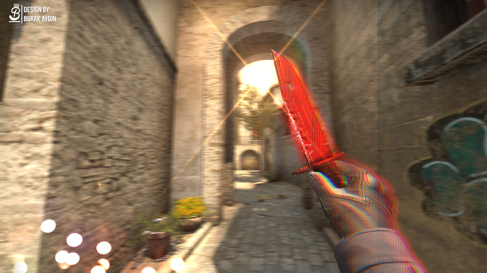 1920x1080 CS:GO - M9 Bayonet Crimson Web - 4K HD Wallpaper