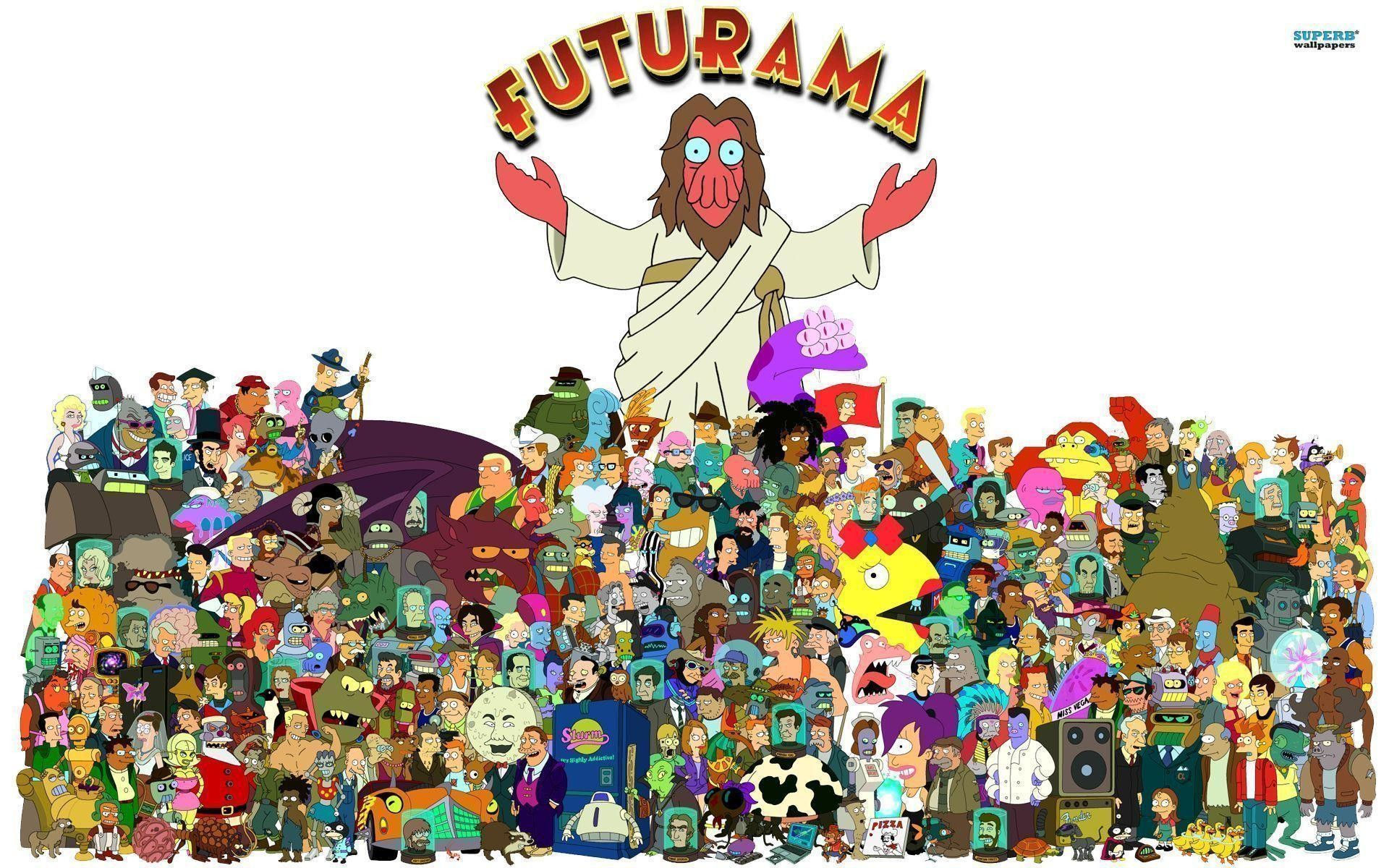 1920x1200 Desktop Wallpaper Collection: Futurama Edition | mindcontrolindustries