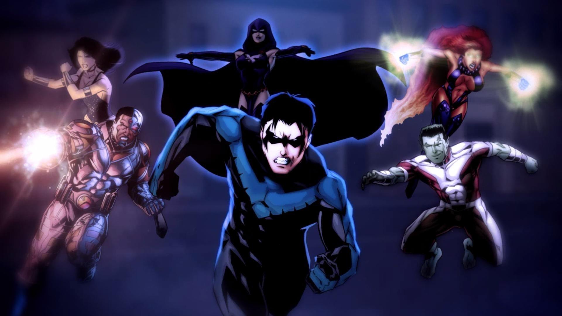 Teen Titans Wallpaper (80+ images)