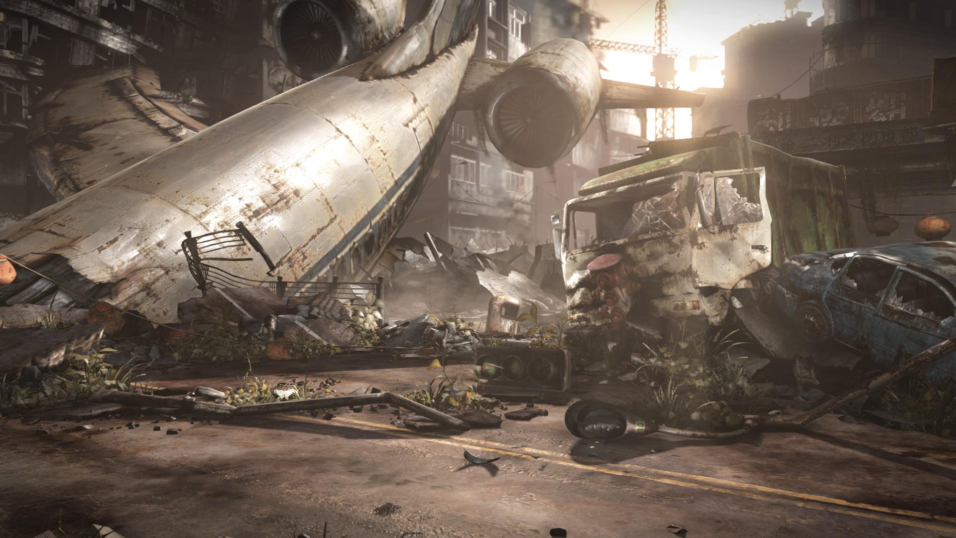 Destroyed City Background (62+ images)