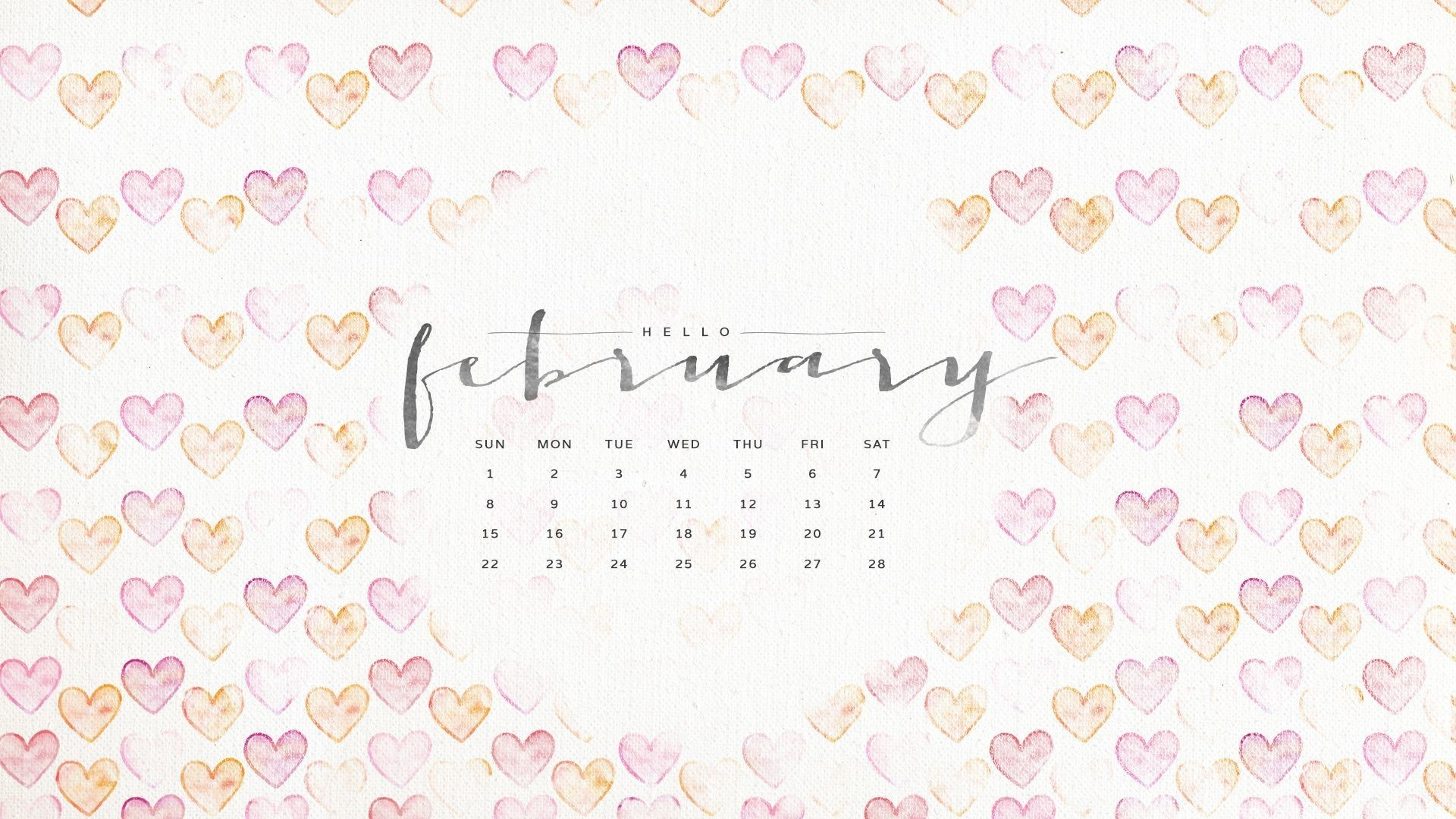 Calendar Wallpaper Live Pc : Desktop wallpaper calendar february  images