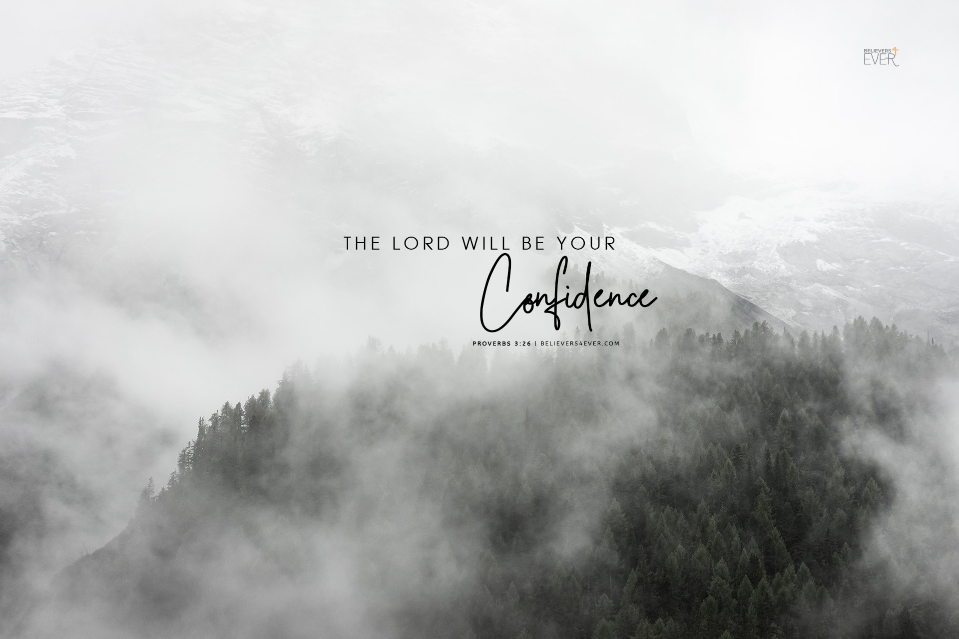 1920x1280 The Lord will be your confidence