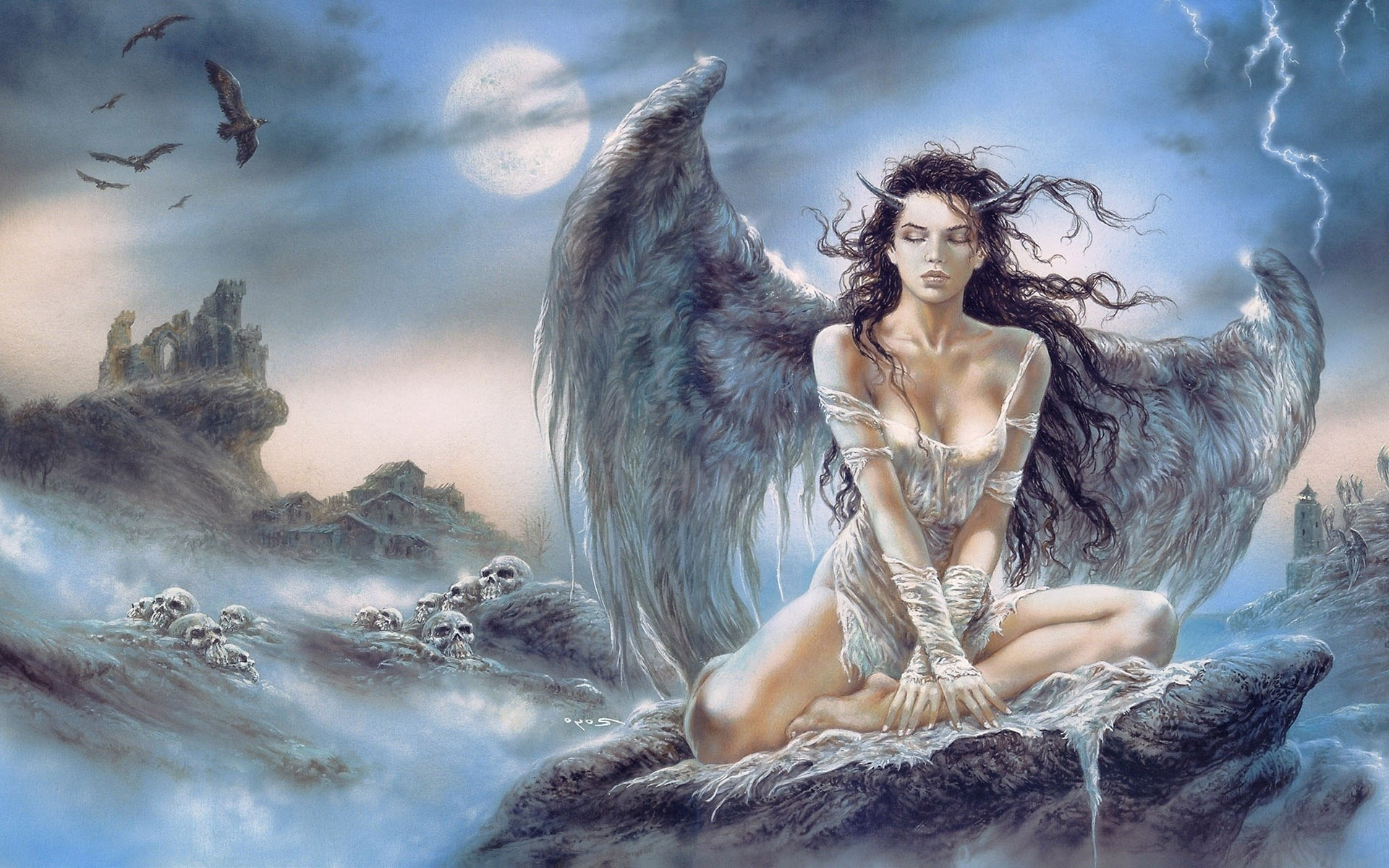 1920x1200 Luis Royo images Luis Royo Lady HD wallpaper and background photos
