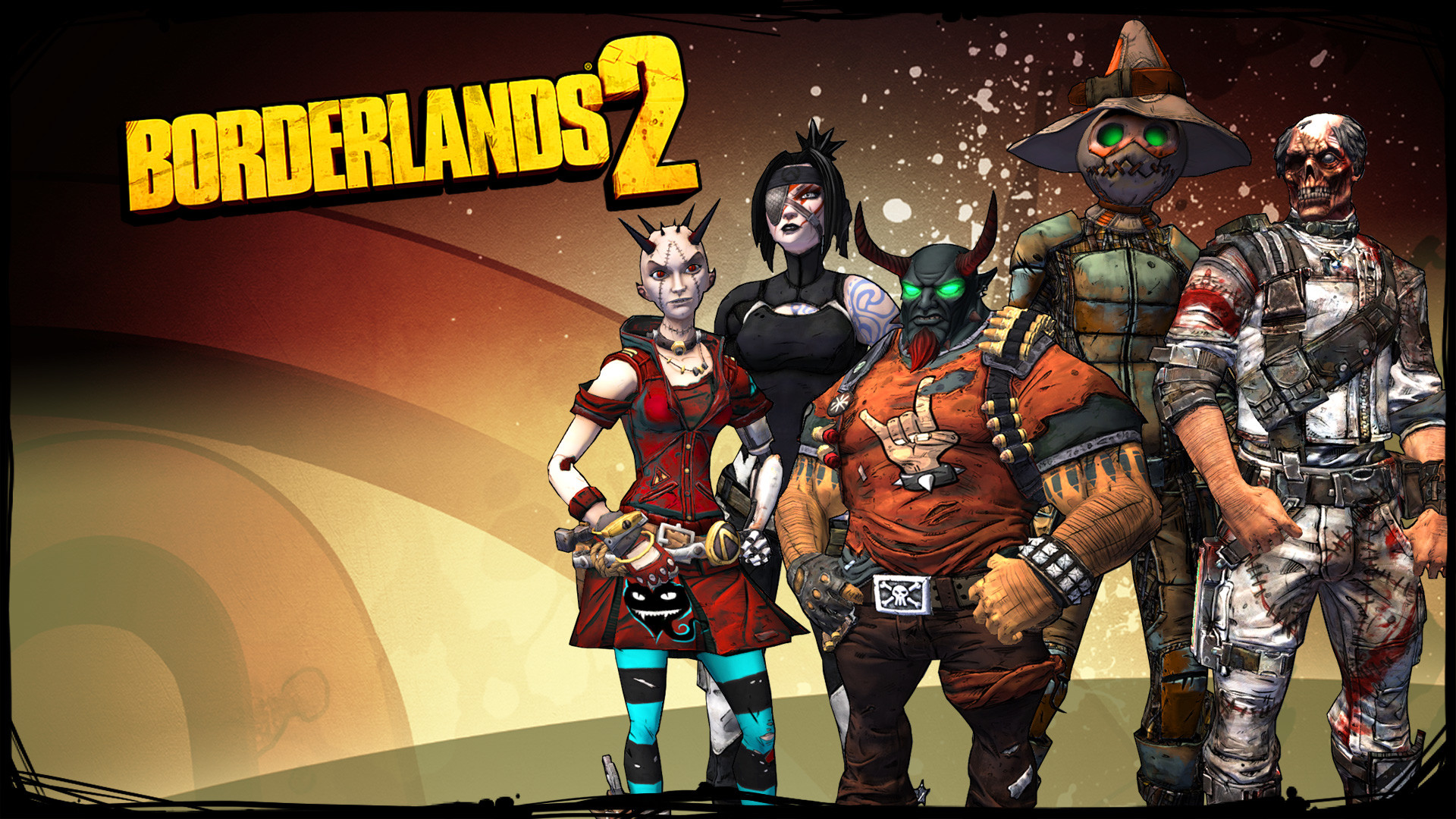 Borderlands 2 Class Wallpaper: Borderlands 2 Psycho Wallpaper (77+ Images