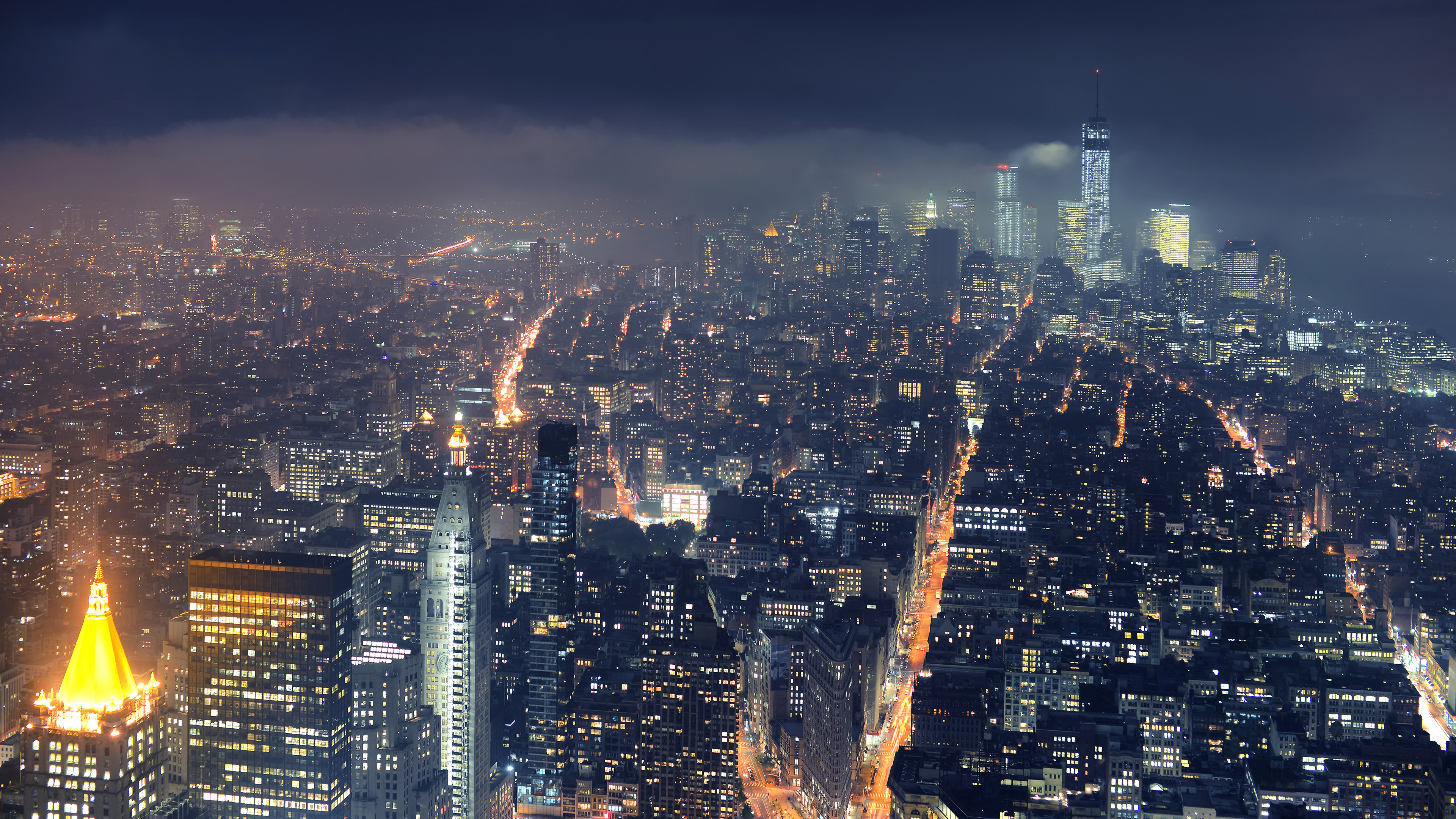 3840x2160 HD Wallpaper | Background Image ID:456536.  Man Made New York
