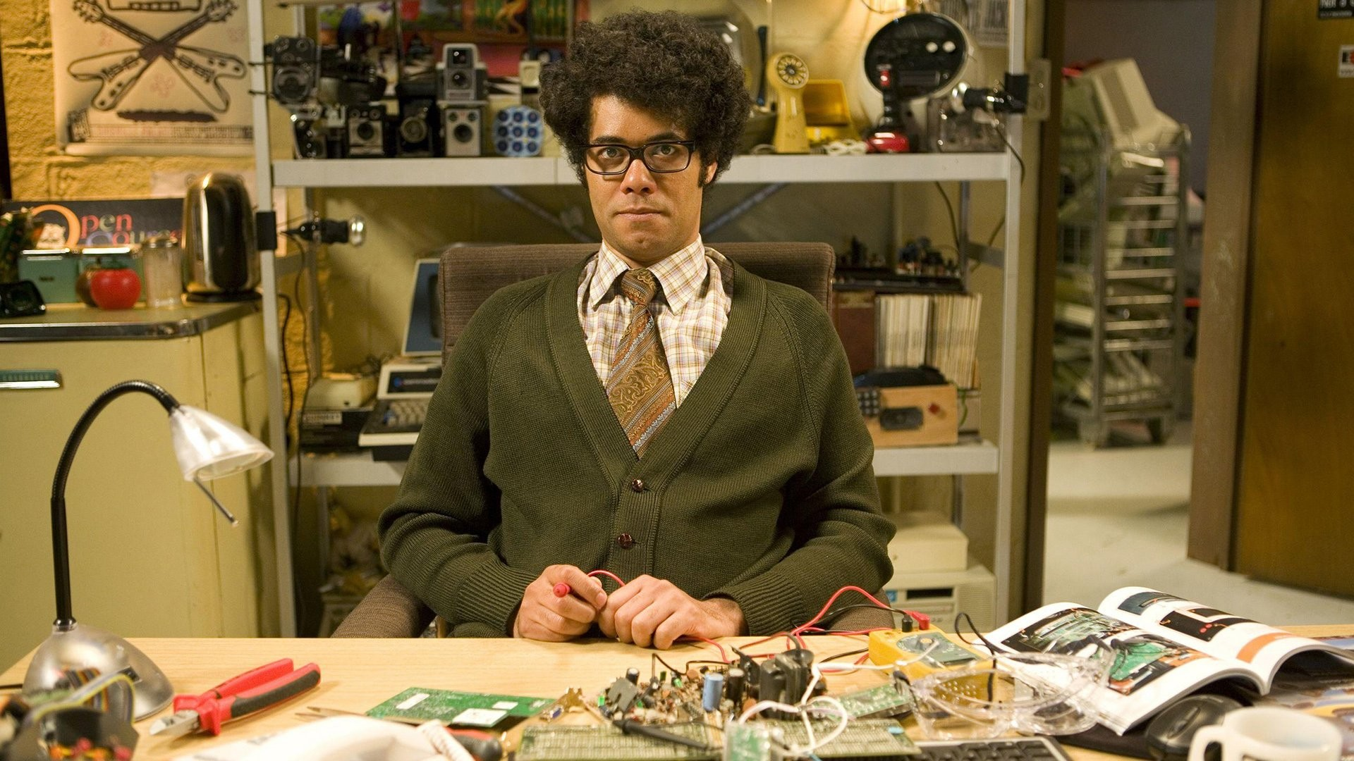1920x1080 TV Show - The IT Crowd Maurice Moss Richard Ayoade Wallpaper