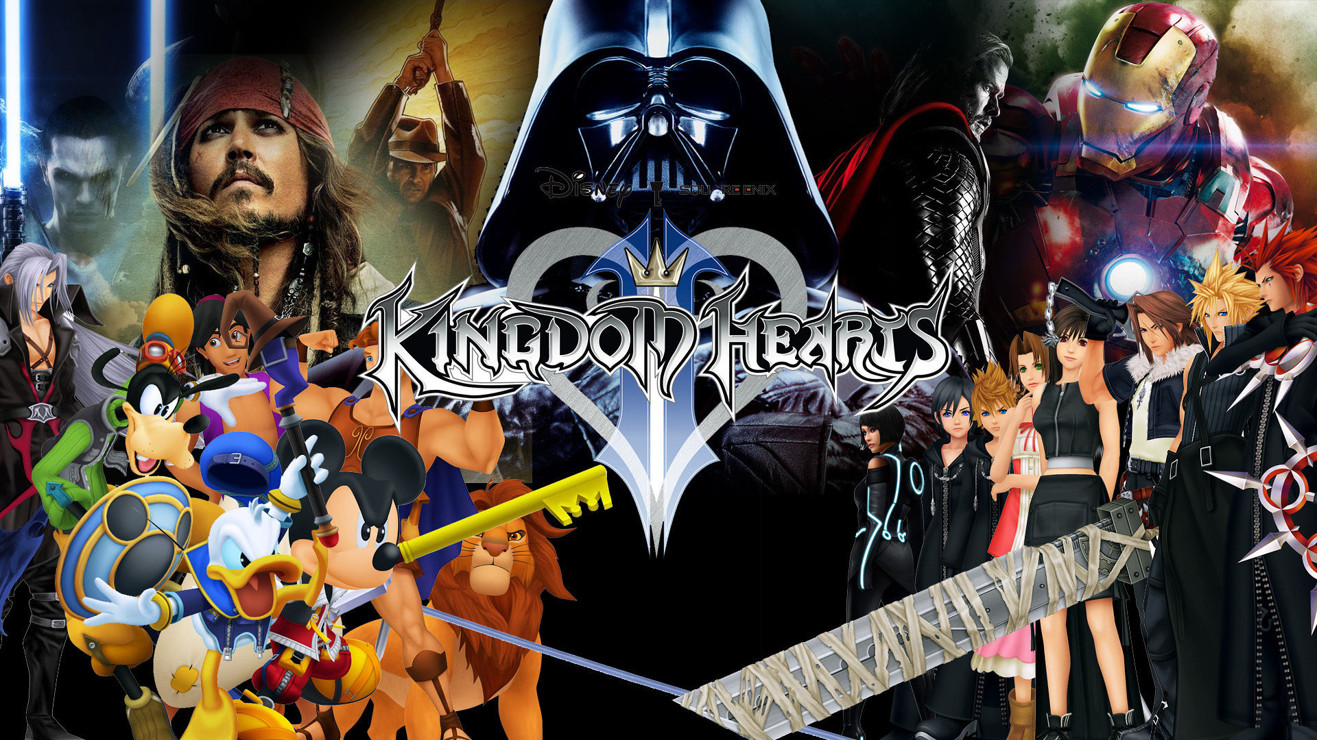1920x1080 Kingdom Hearts 3: Pick Marvel Characters to Appear in KH3 On ..