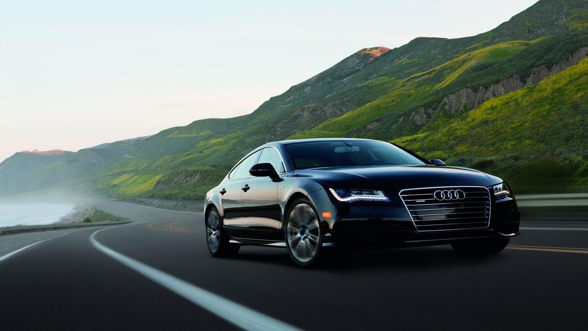 Audi a6 logo light