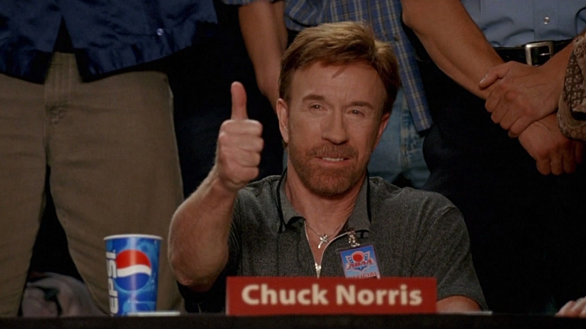 1920x1080 High Quality Thank You, Chuck Norris Blank Meme Template