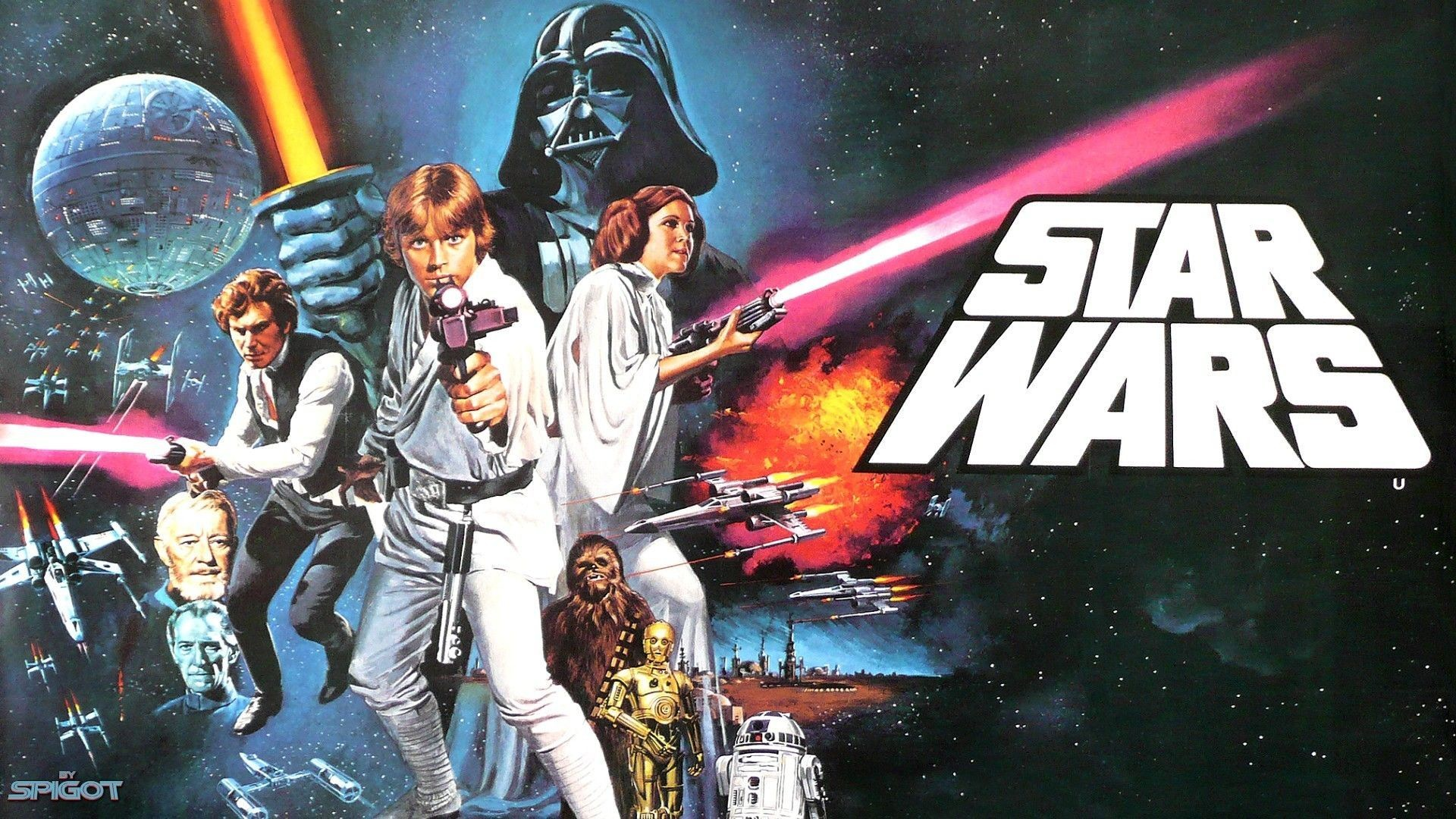 Star Wars Movie Poster Wallpaper 64 Images