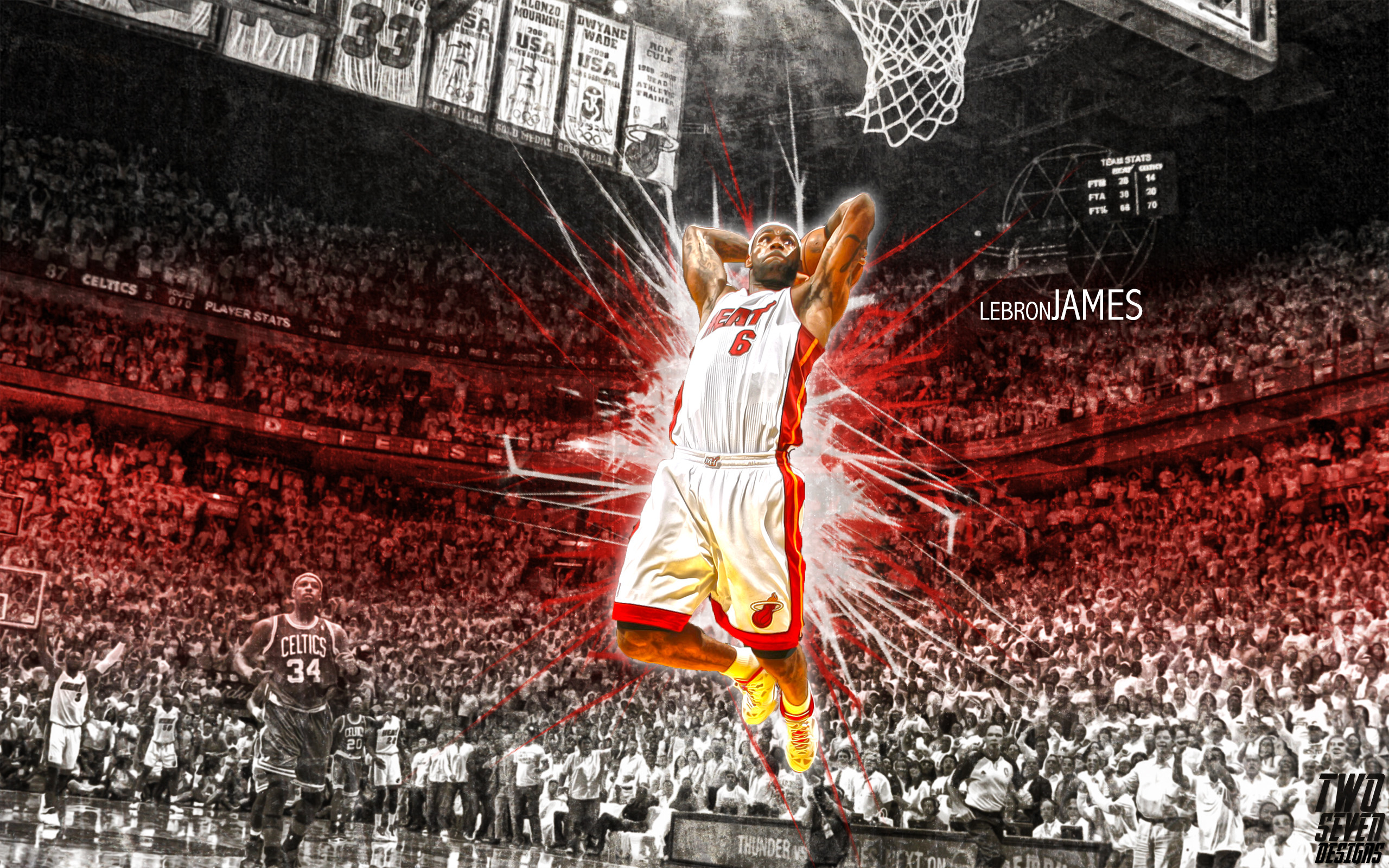 2560x1600 Lebron James Miami Heat Wallpaper For Desktop 71021