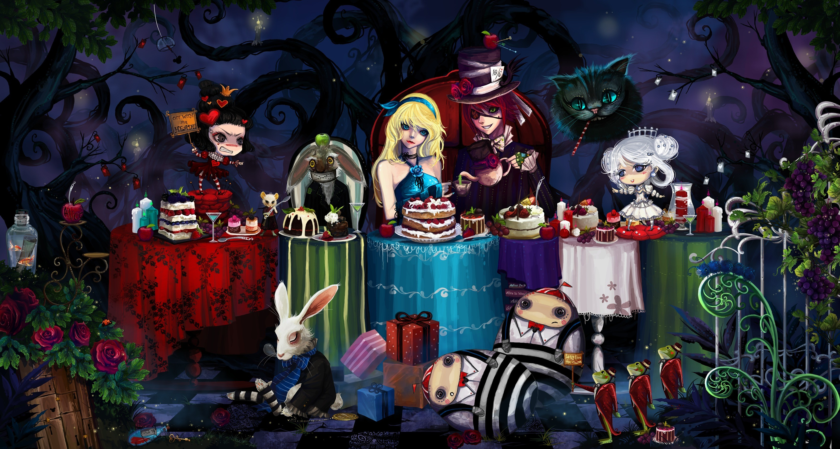 Alice In Wonderland Hd Wallpapers 69 Images