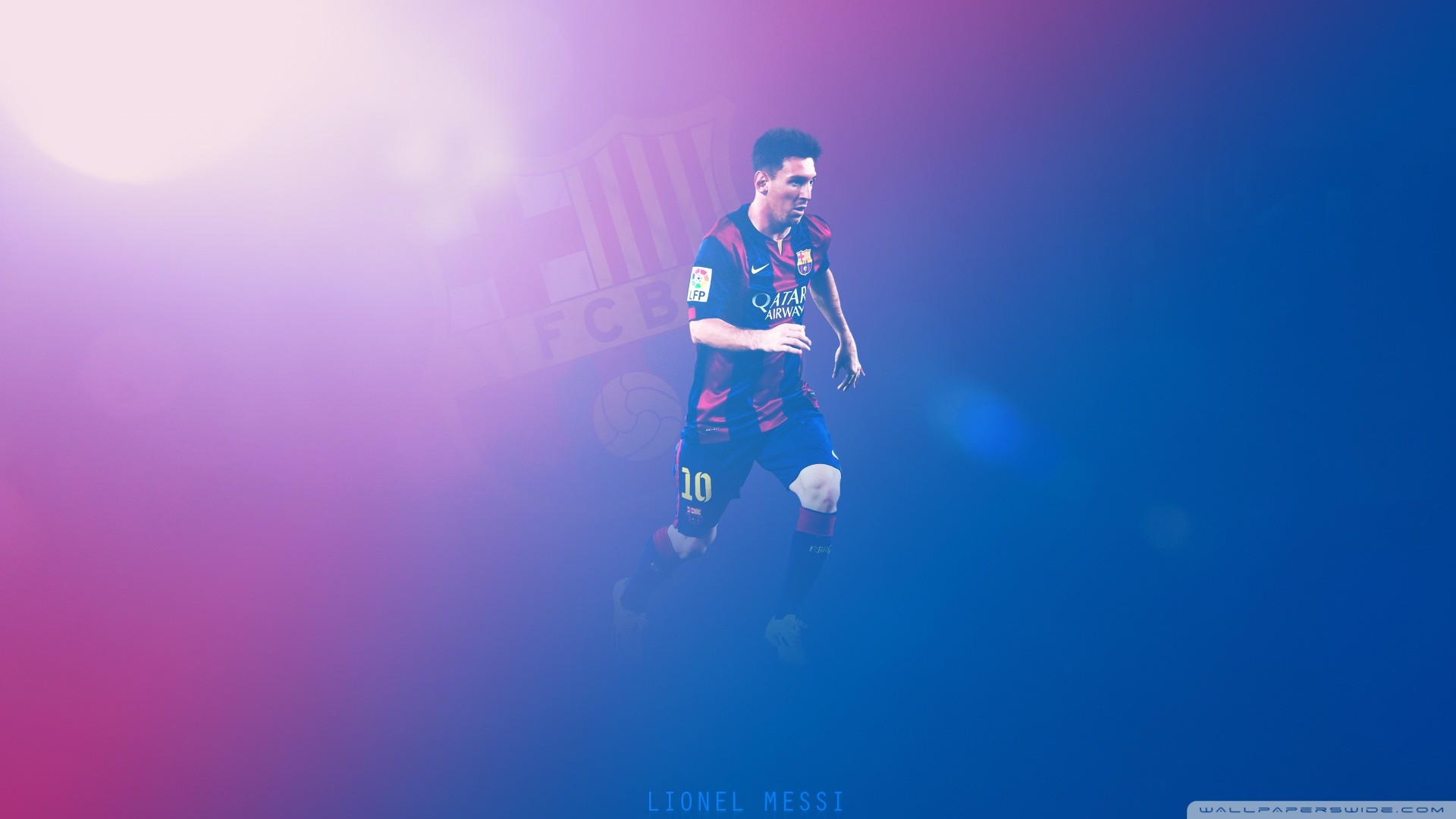 1920x1080 Lionel Messi - Barcelona HD Wide Wallpaper for Widescreen